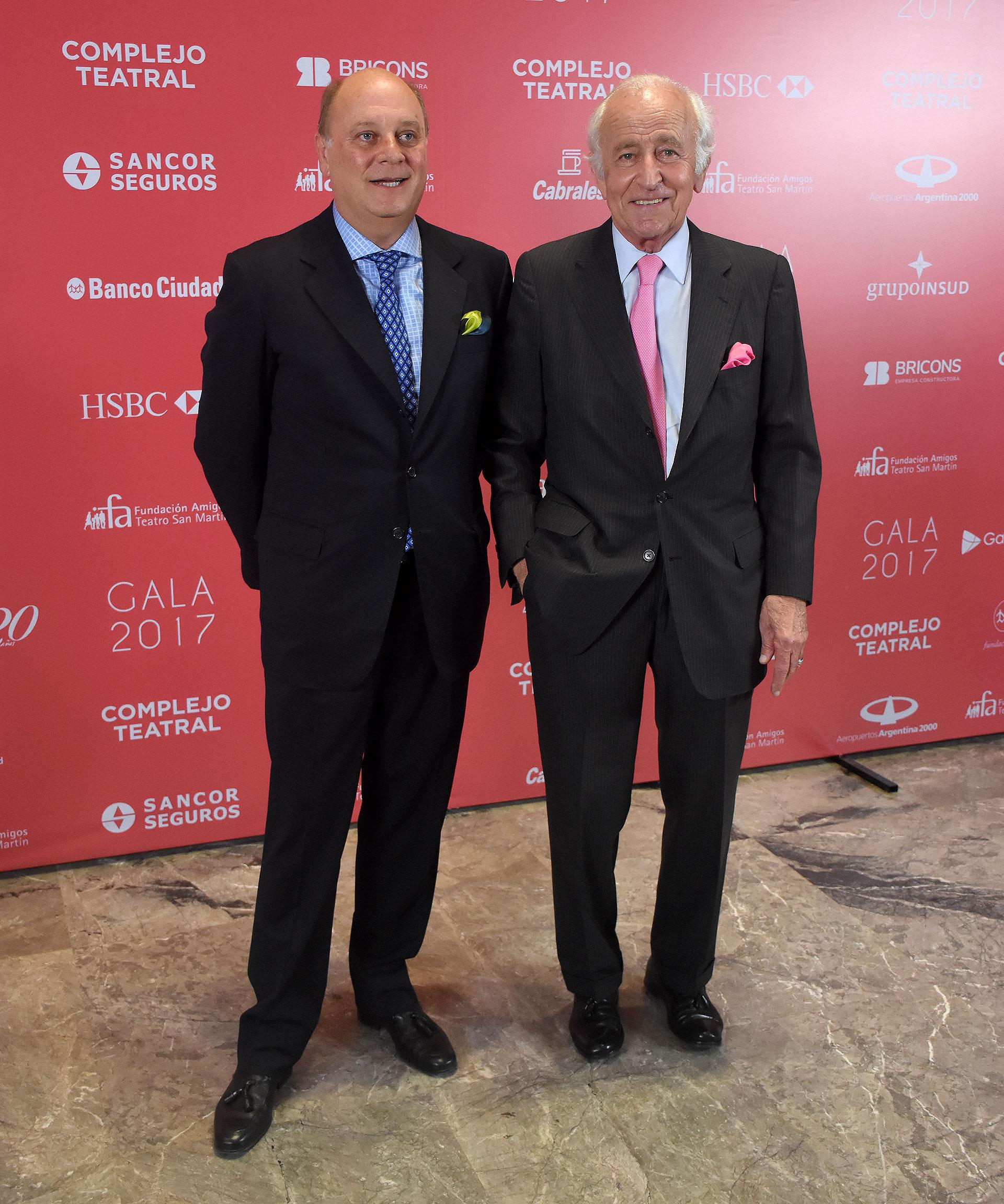 Martín Cabrales y Santiago Soldati