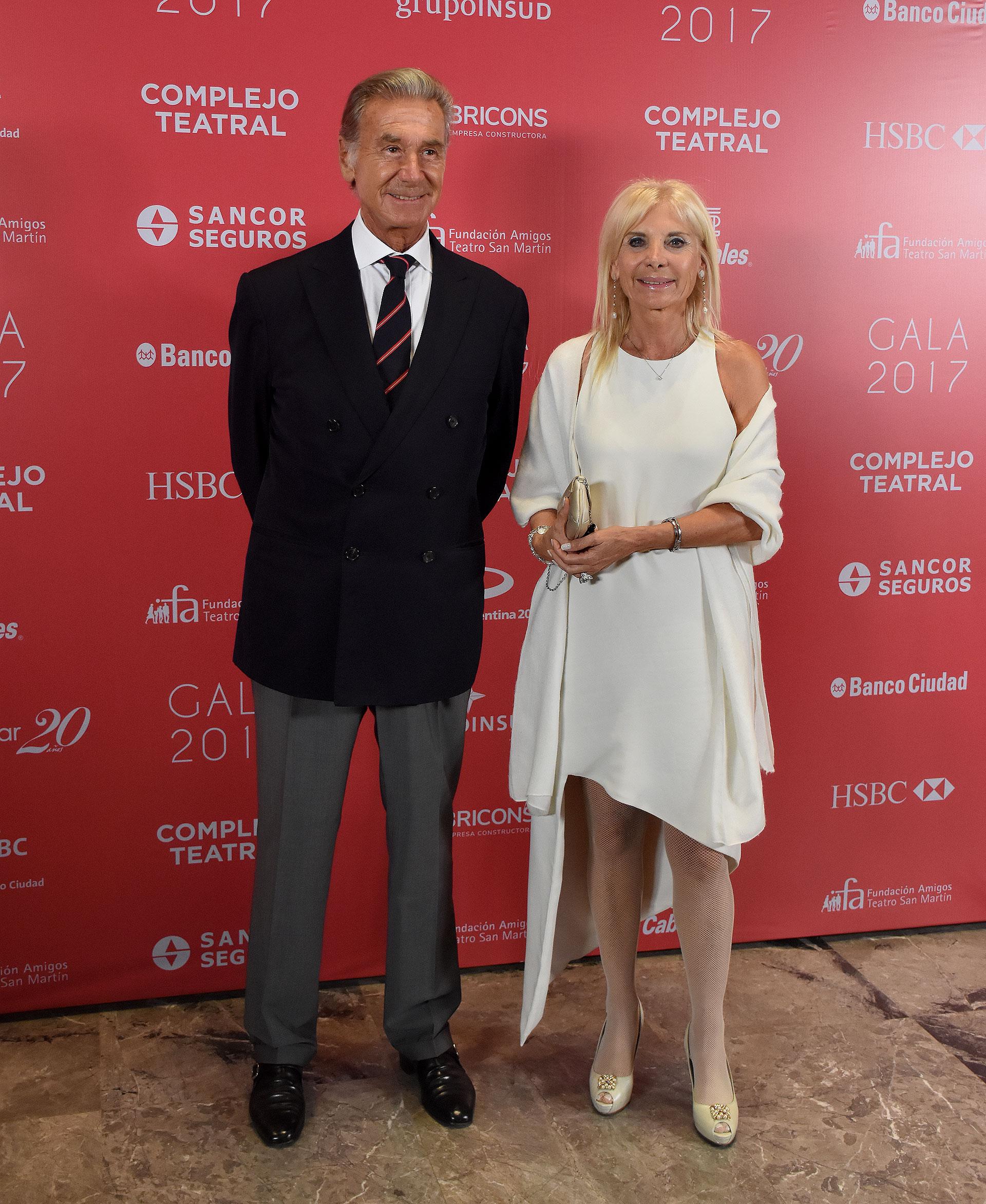 La embajadora de Italia en la Argentina, Teresa Castaldo