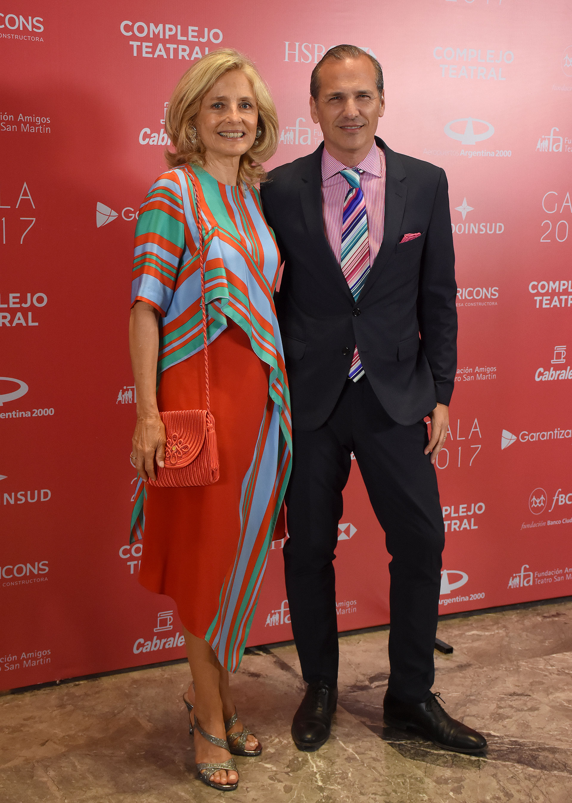 Cecilia Zuberbuhler y Javier Iturrioz