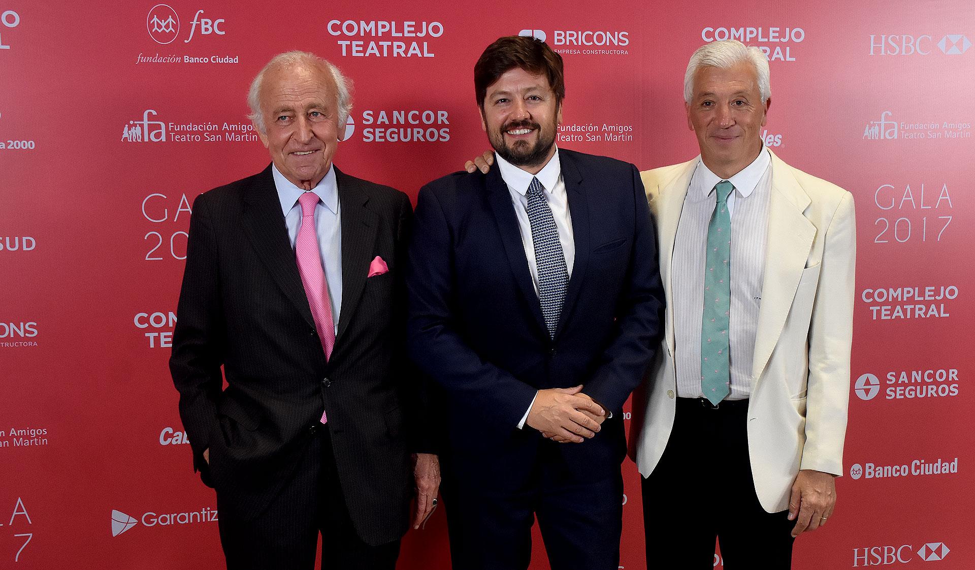 Santiago Soldati, Jorge Lukowski e Ignacio Miguens