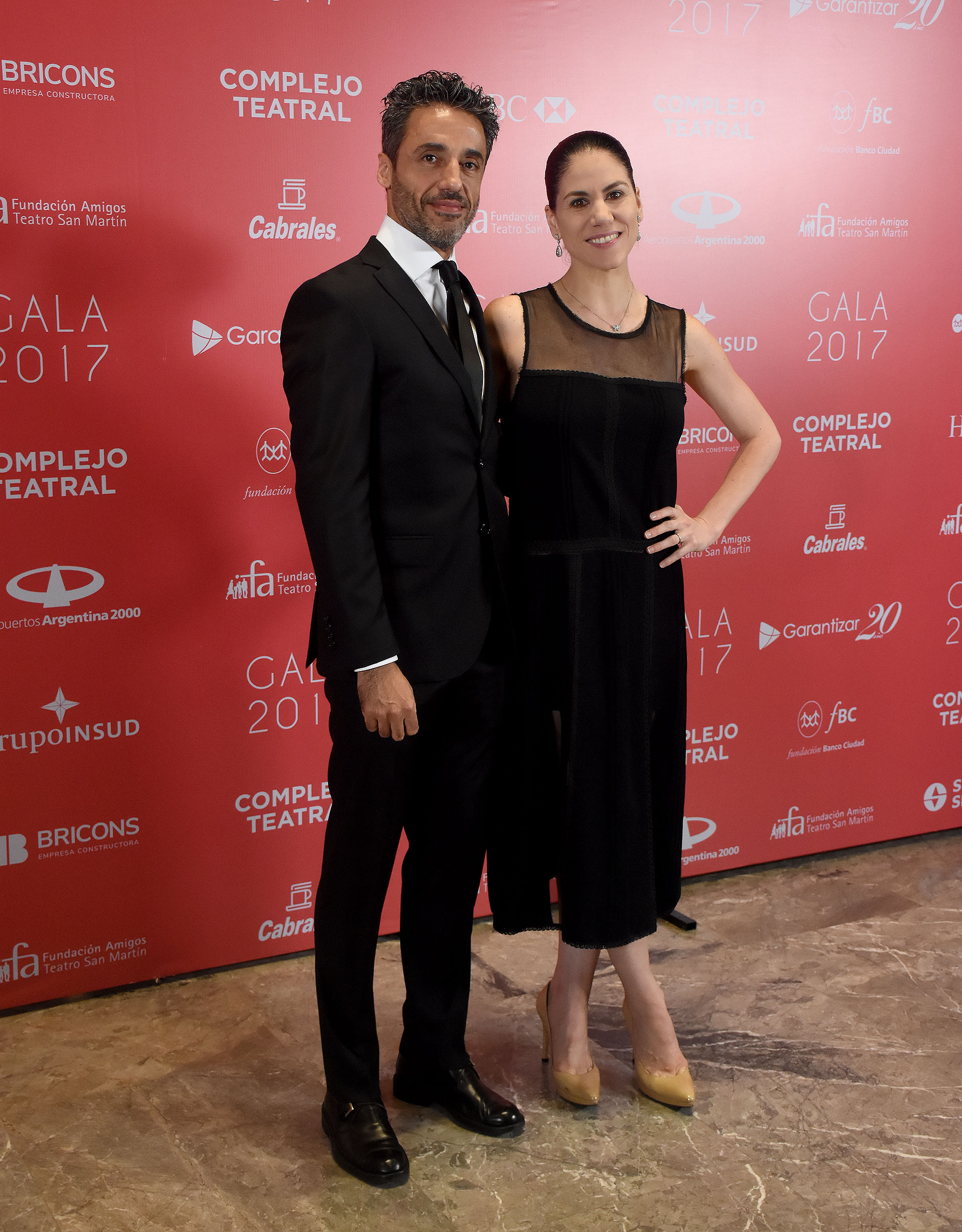 Paloma Herrera y su pareja