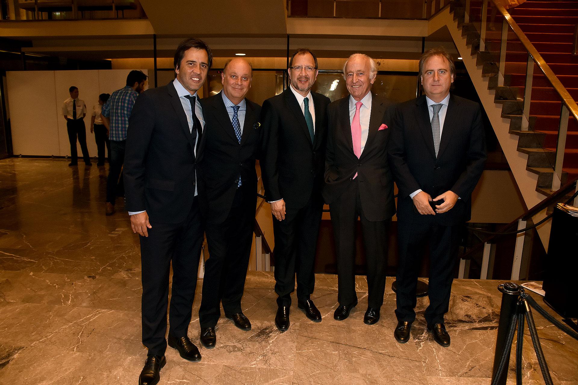 Santiago Pando, Martín Cabrales, Fabián Perechodnik, Santiago Soldati y Tato Lanusse