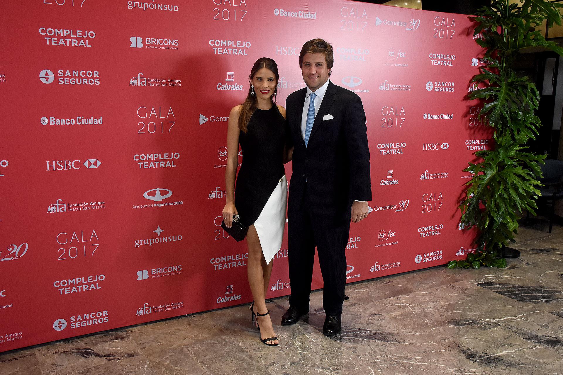 Taina Laurino Ferreira y Georgie Neuss, director del Grupo Urban Yard y Chairman de QEV