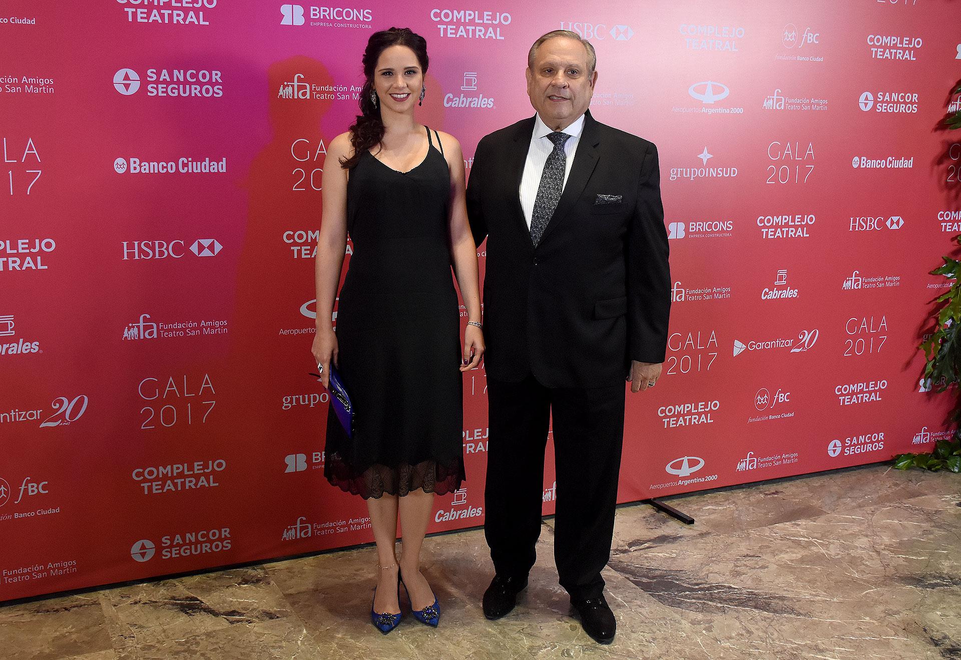 Natalí Márquez, creativa y dueña de Brezza, junto a su marido Néstor Abatidaga, director general corporativo del Grupo Sancor Seguros