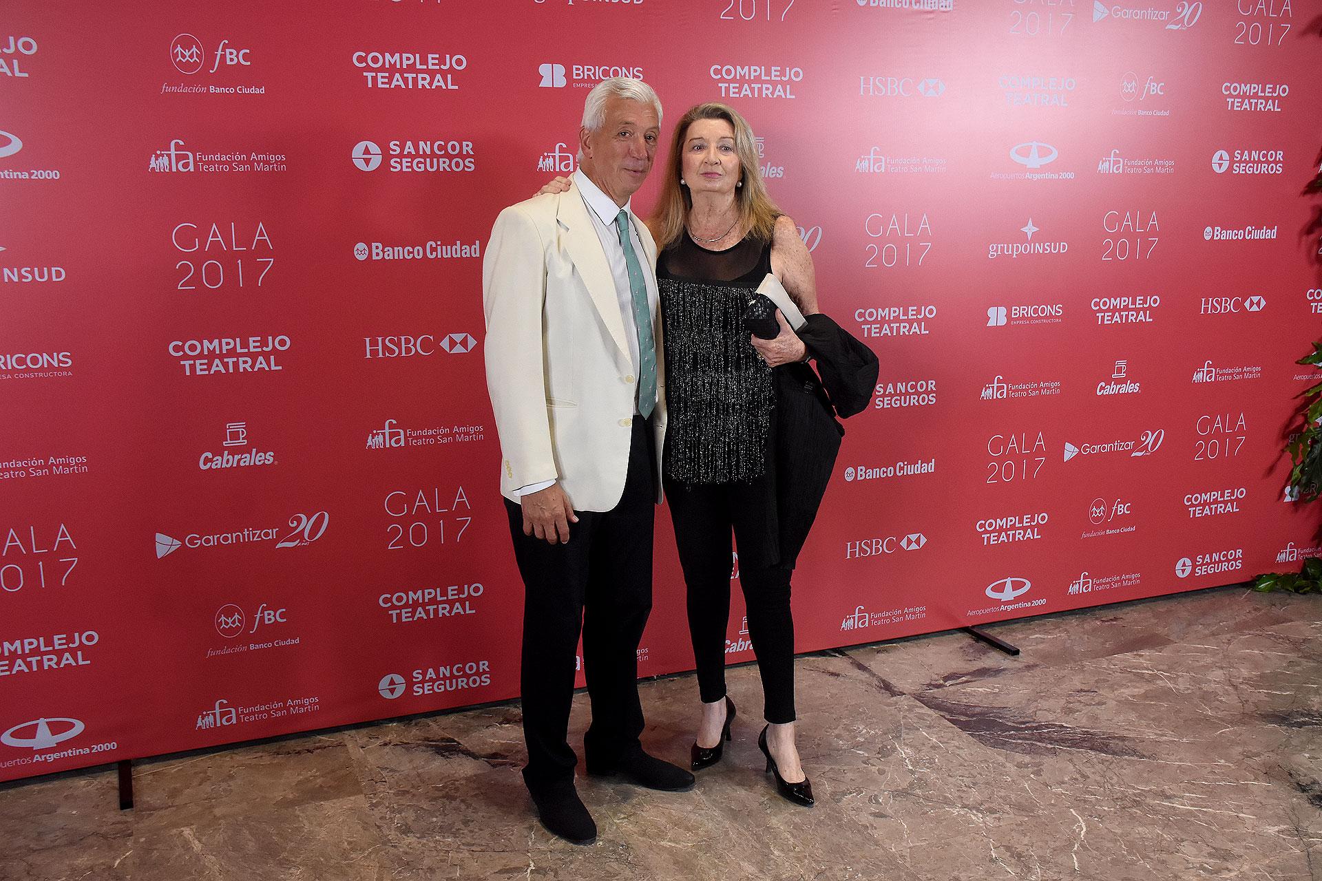 Ignacio Miguens y Alicia de Arteaga