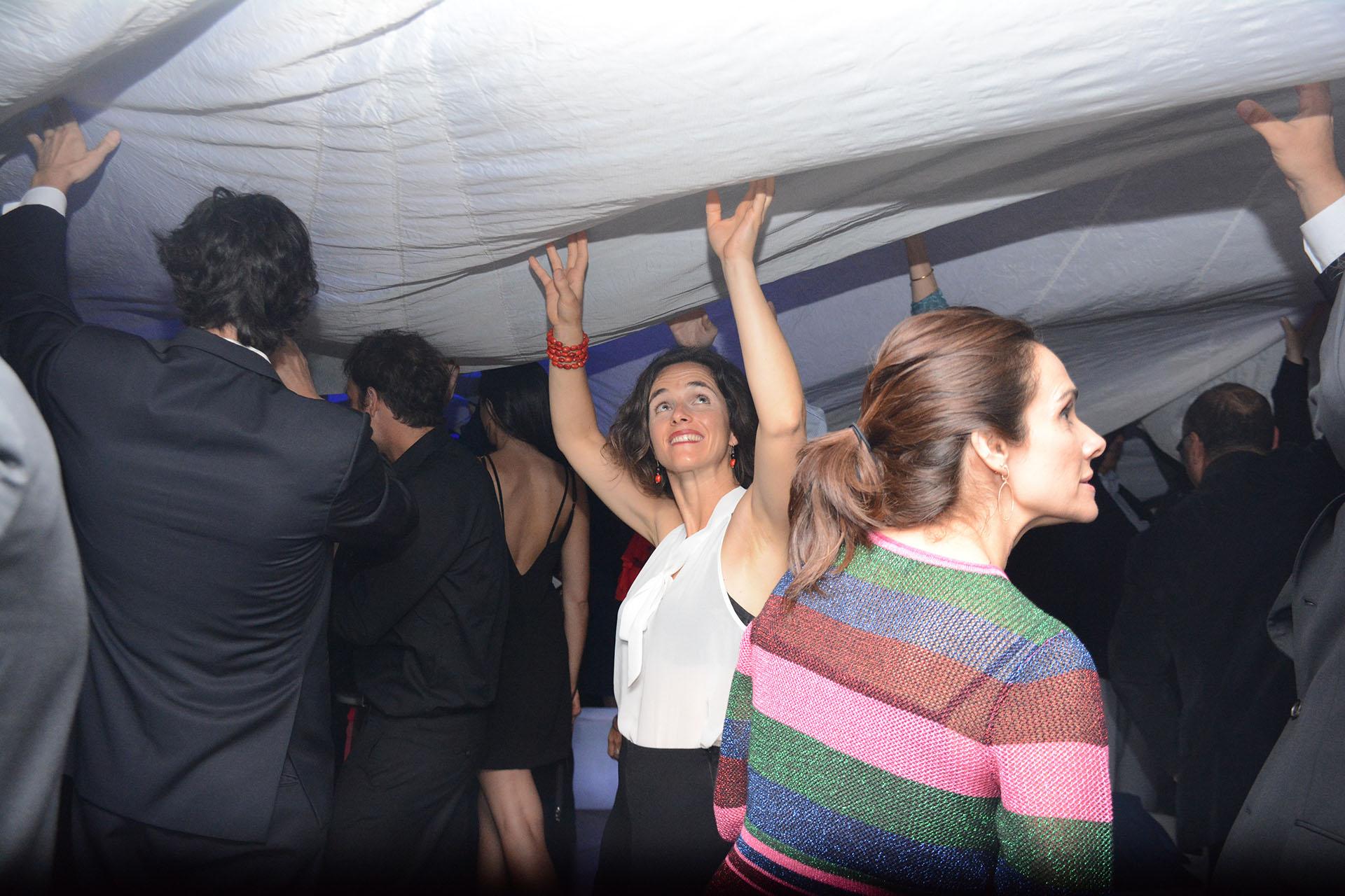 Al final de la noche hubo baile y fiesta