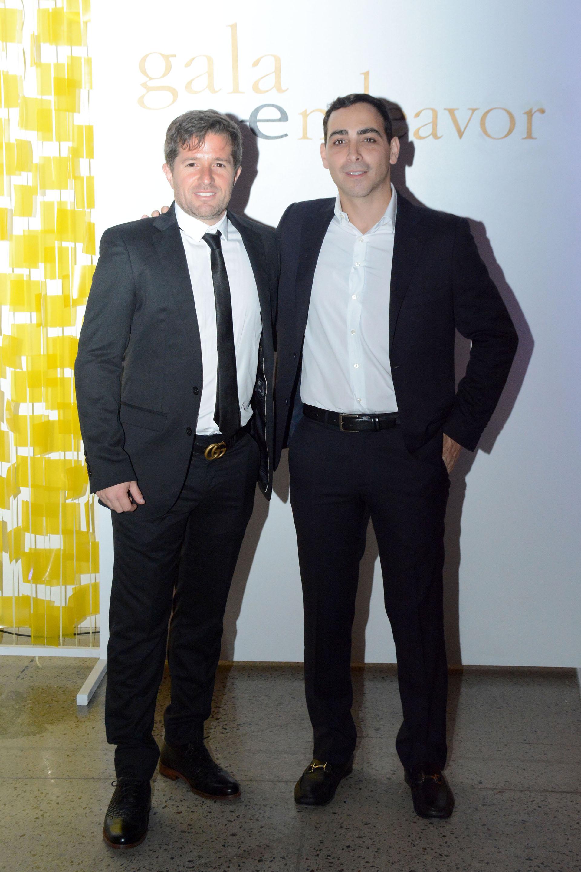 El empresario Christian Otero, de la heladería Lucciano's y Matías Recchia, de Iguanafix, elegido, emprendedor del año 2017