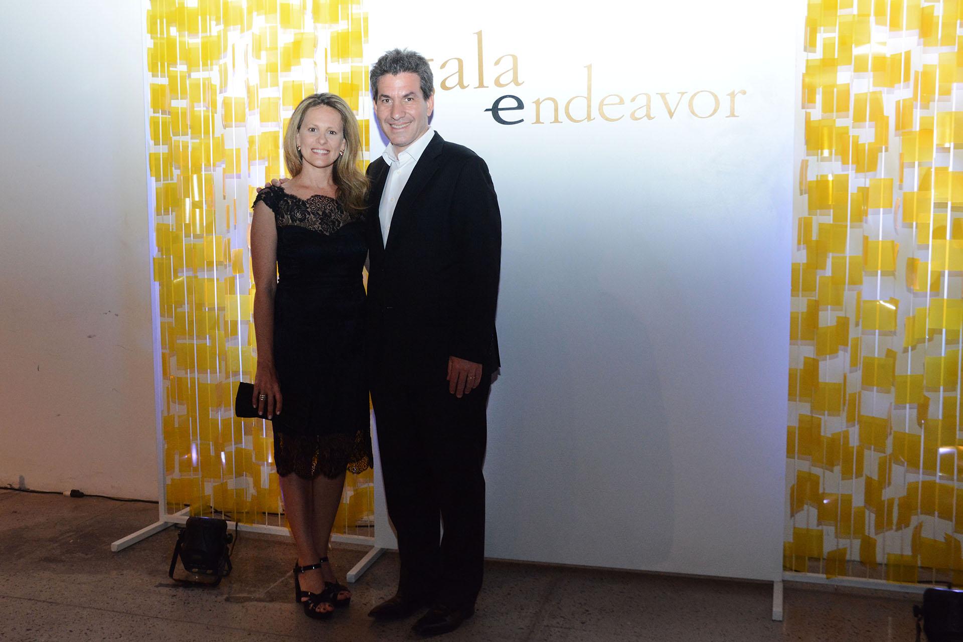 Andy Freire, ministro de Modernización, Innovación y Tecnología de la Ciudad de Buenos Aires y Romina, su esposa