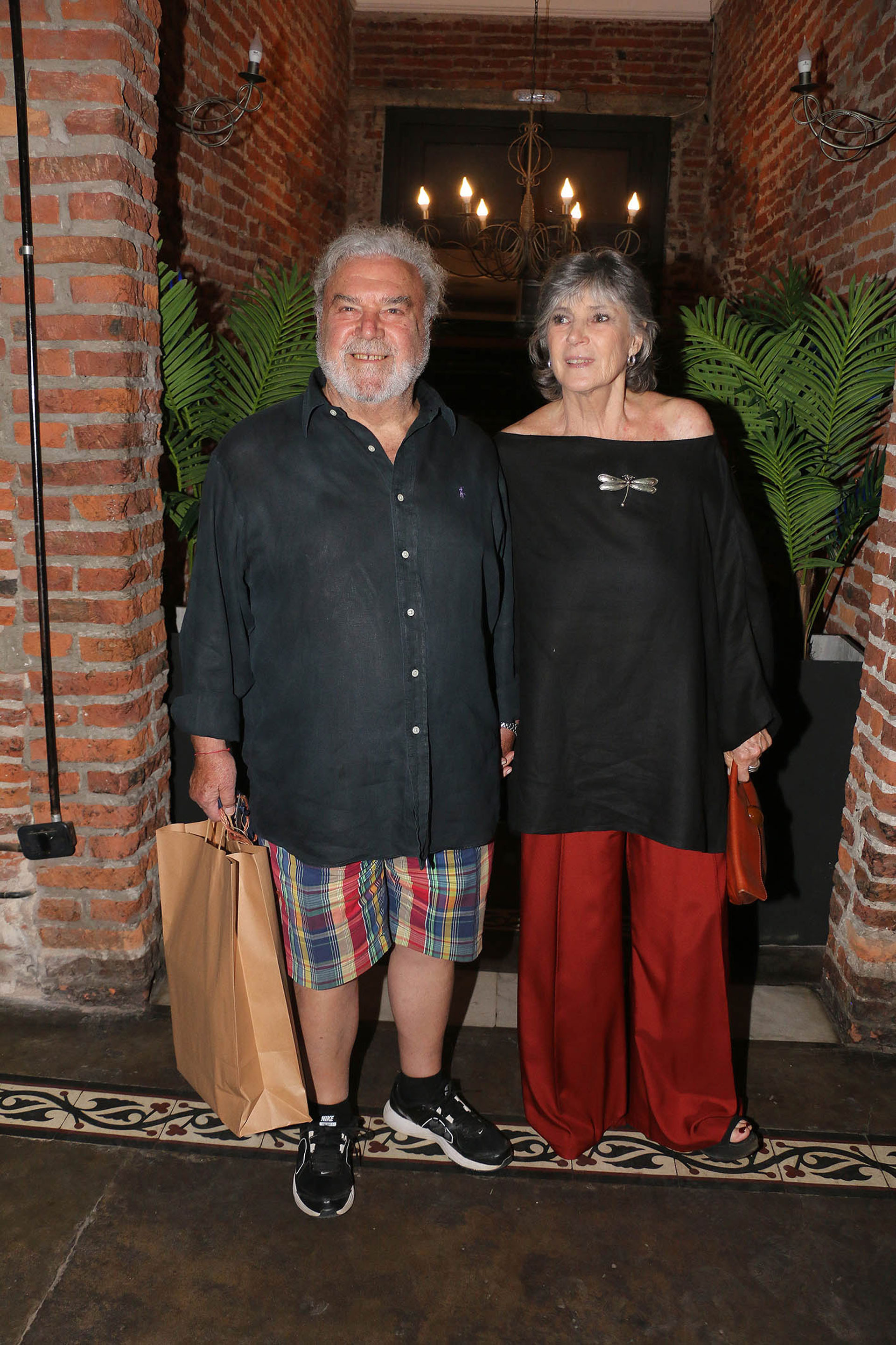 Rodolfo Ranni y su pareja