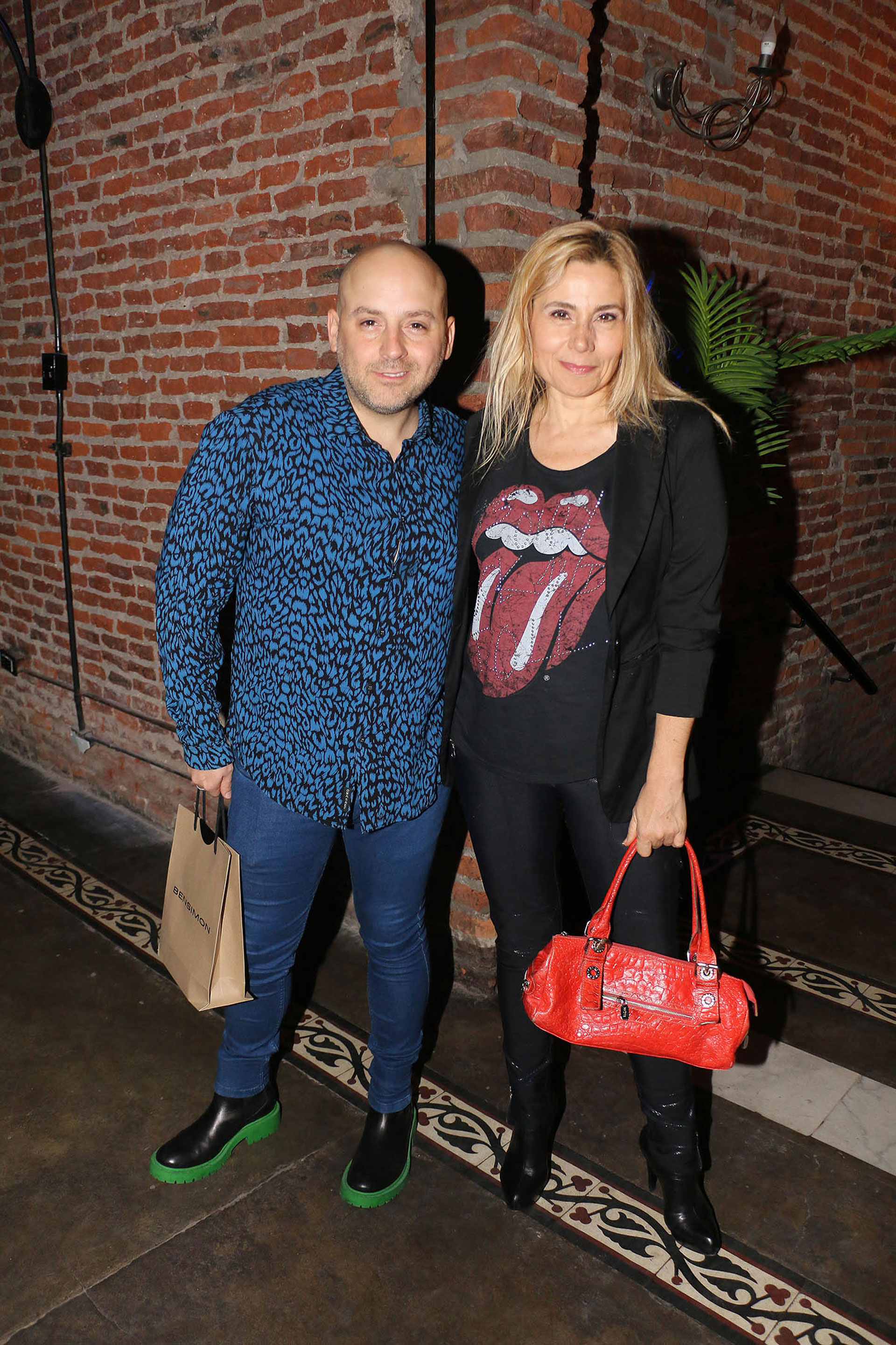 El productor con Andrea Politti