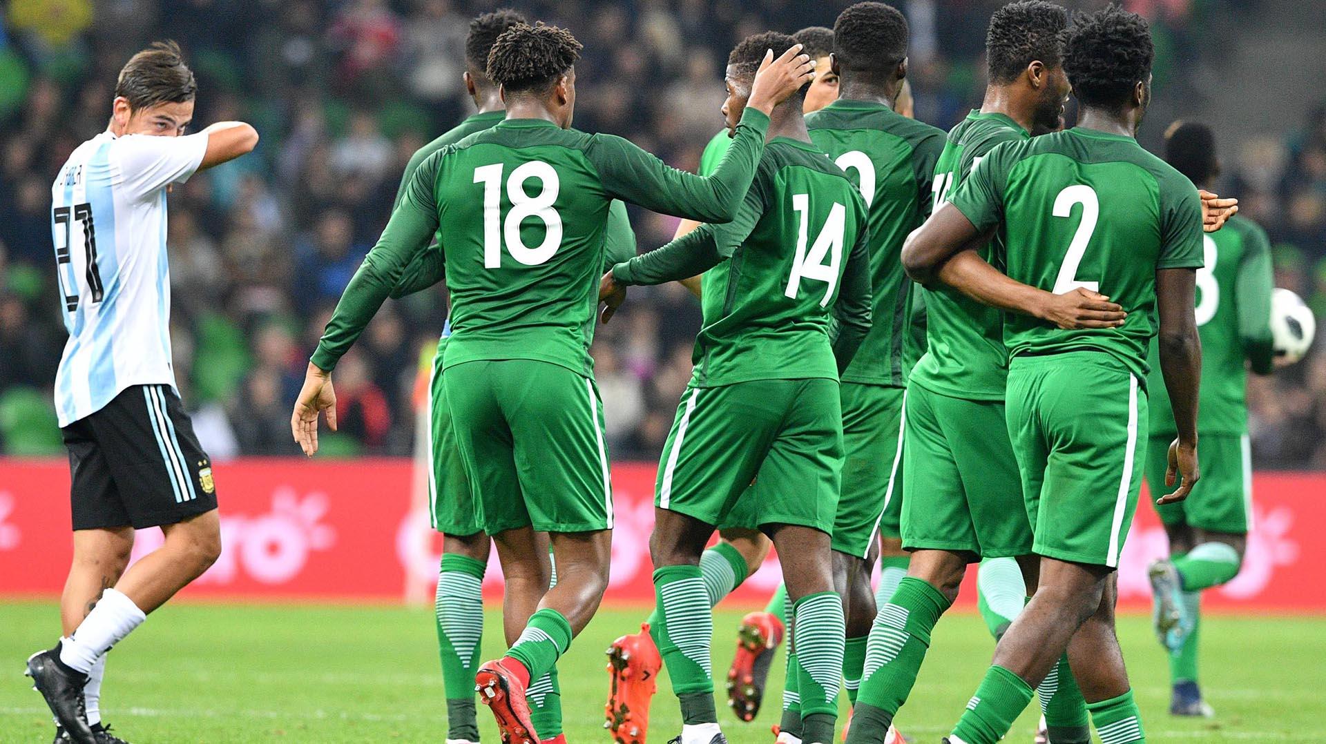 Argentina estuvo en ventaja por dos goles, pero Nigeria torció la historia y se impuso 4-2