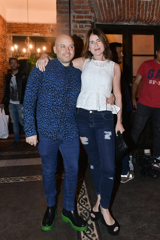 Muscari con Cecilia Dopazo. Foto: Fabián Uset/GENTE