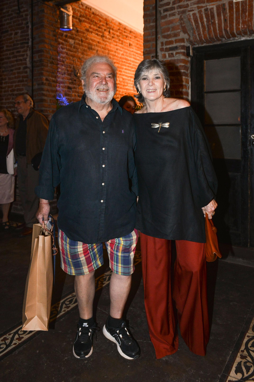 Rodolfo Ranni y su pareja. Foto: Fabián Uset/GENTE