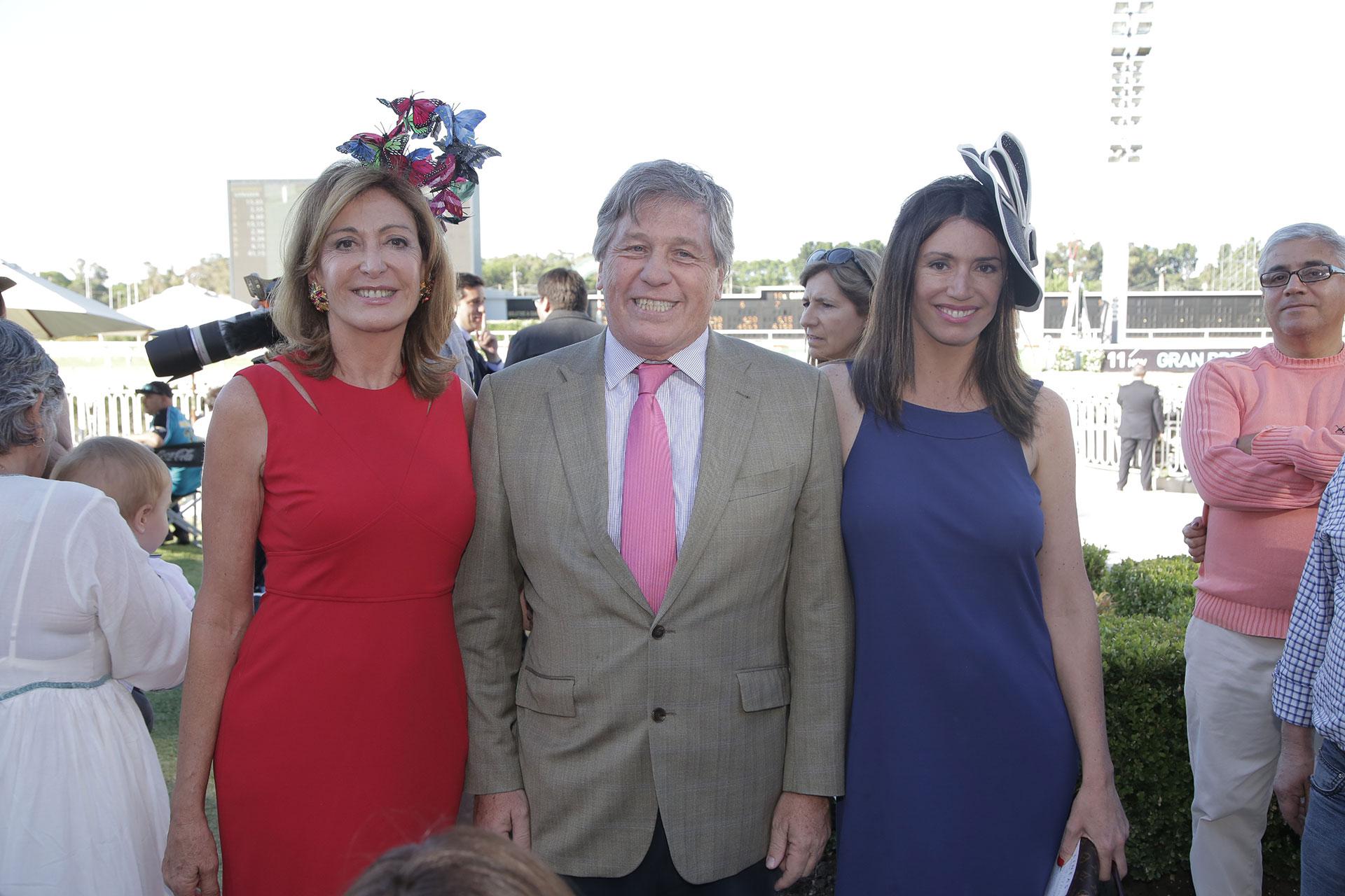 Mariel Llorens de Quintana, Antonio Bullrich y Verónica Quintana