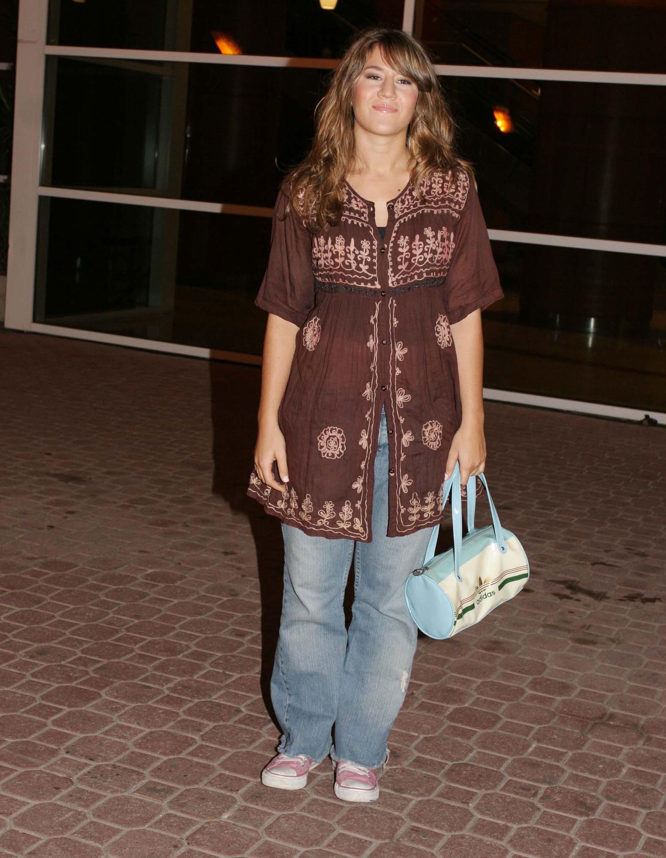 Año 2005 y la prueba irrefutable de que Jimena también tuvo su etapa hippie chic. Foto: Archivo Atlántida Televisa