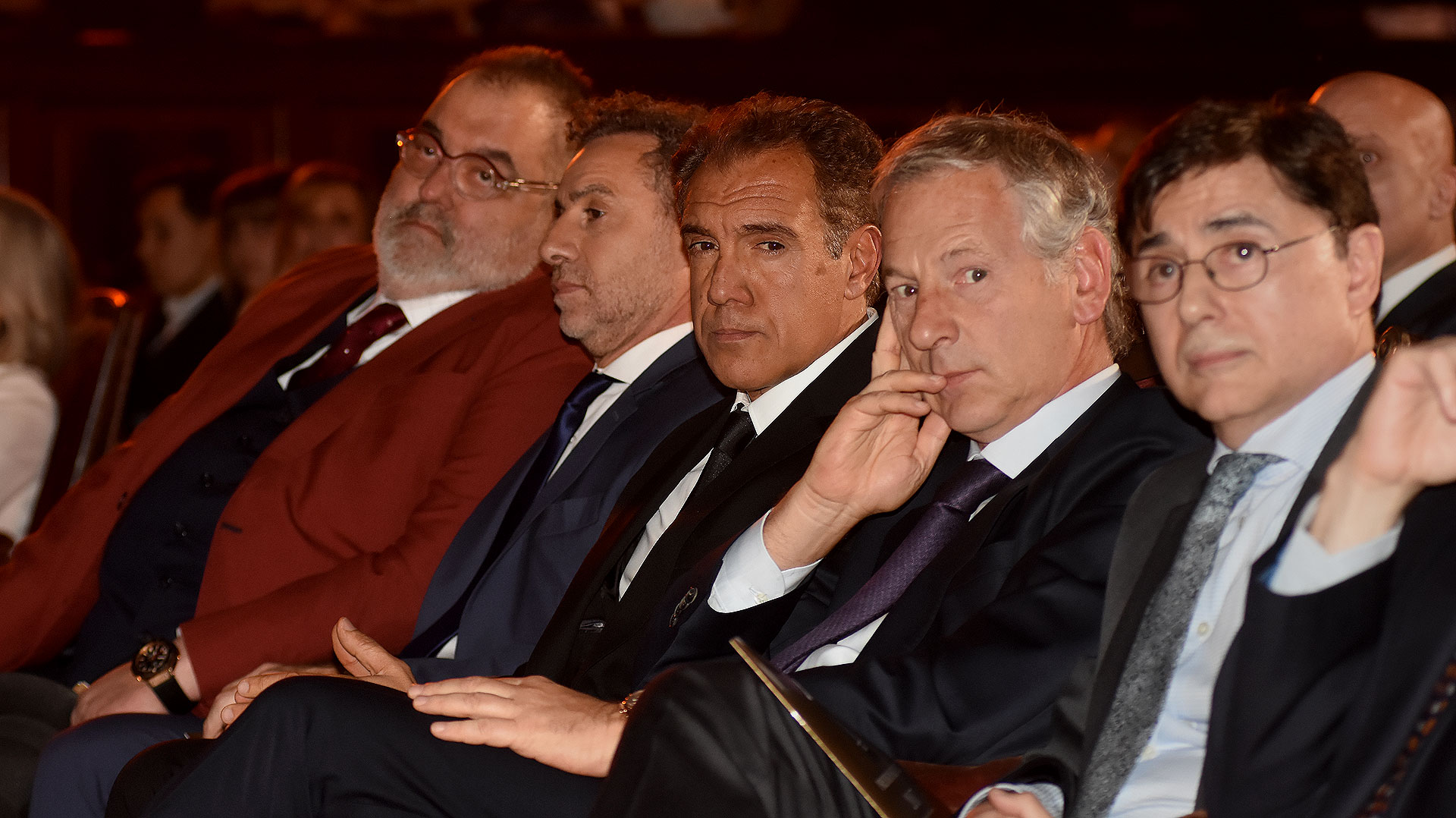 Jorge Lanata, Luis Majul, Daniel Hadad, Marcelo Longobardi y Jorge Fontevecchia