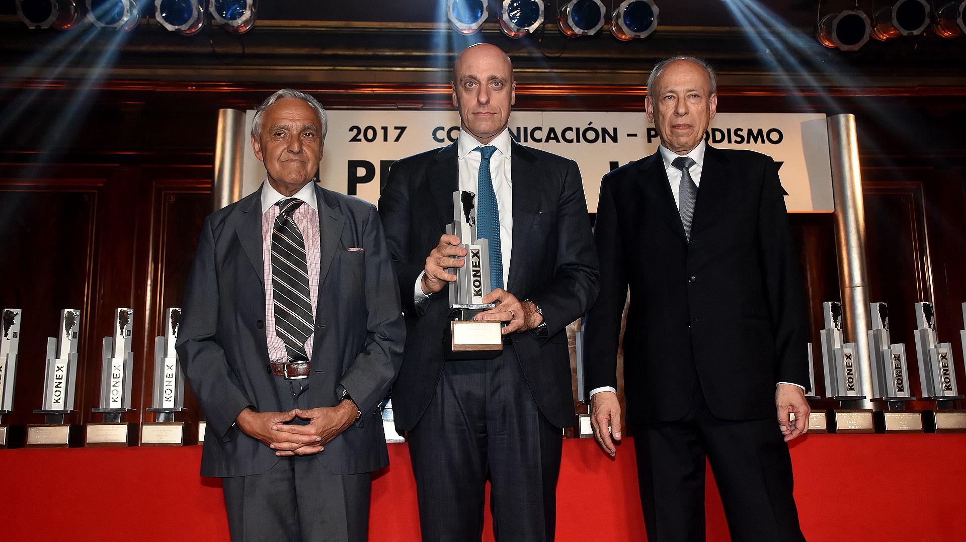 Rosendo Fraga, Carlos Pagni y Luis Ovsejevich