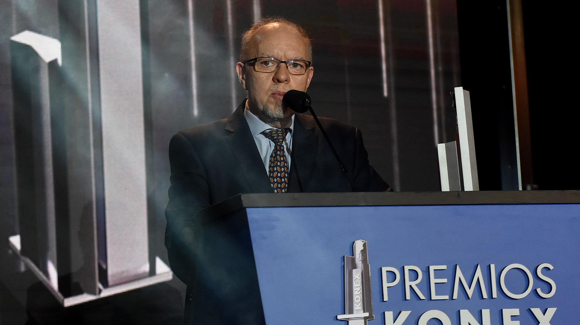 Jorge Fenández Díaz durante su discurso