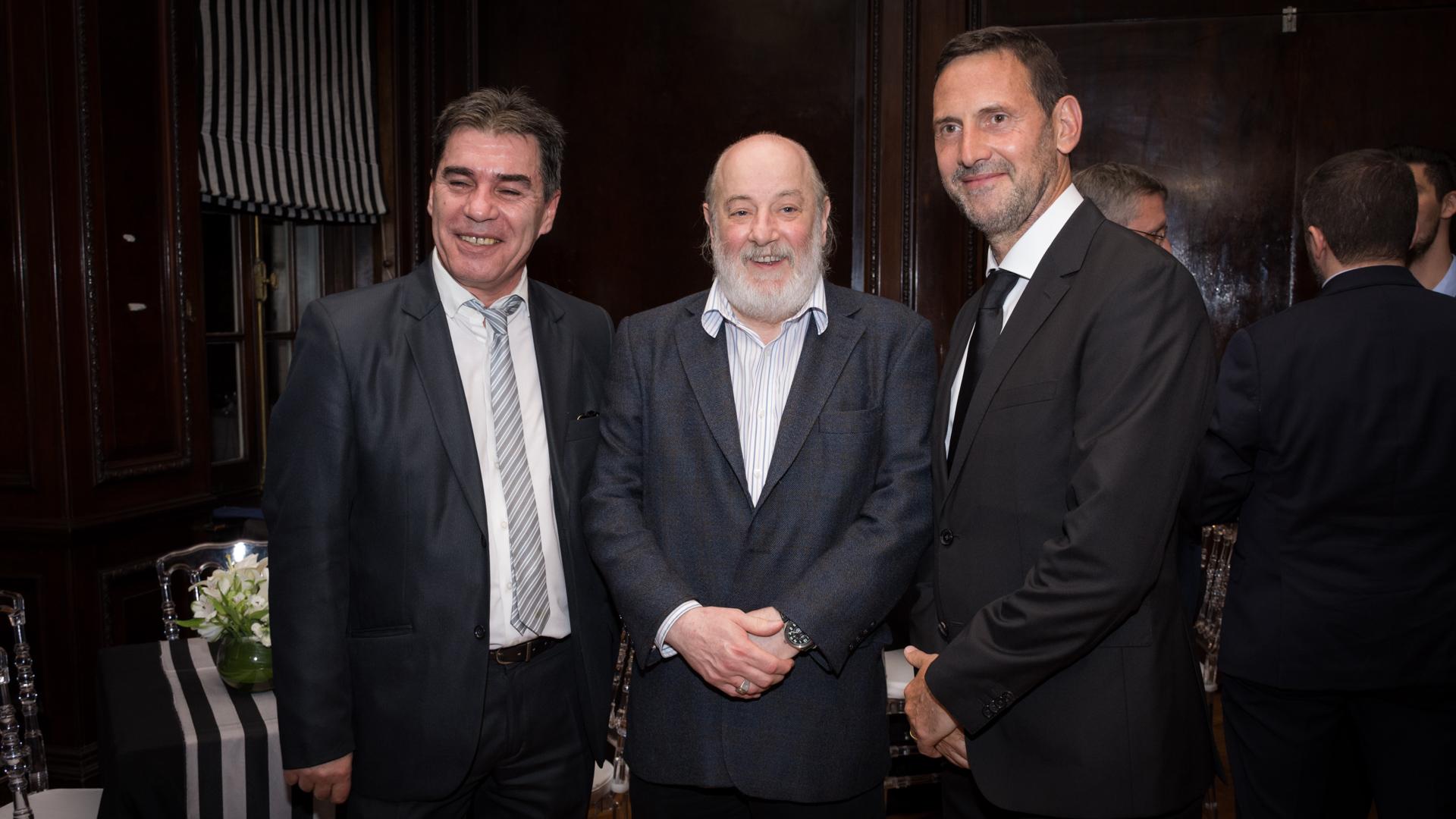 George Chaya analista y columnista especializado en zonas de conflicto, Claudio Bonadio, Juan Félix Marteau