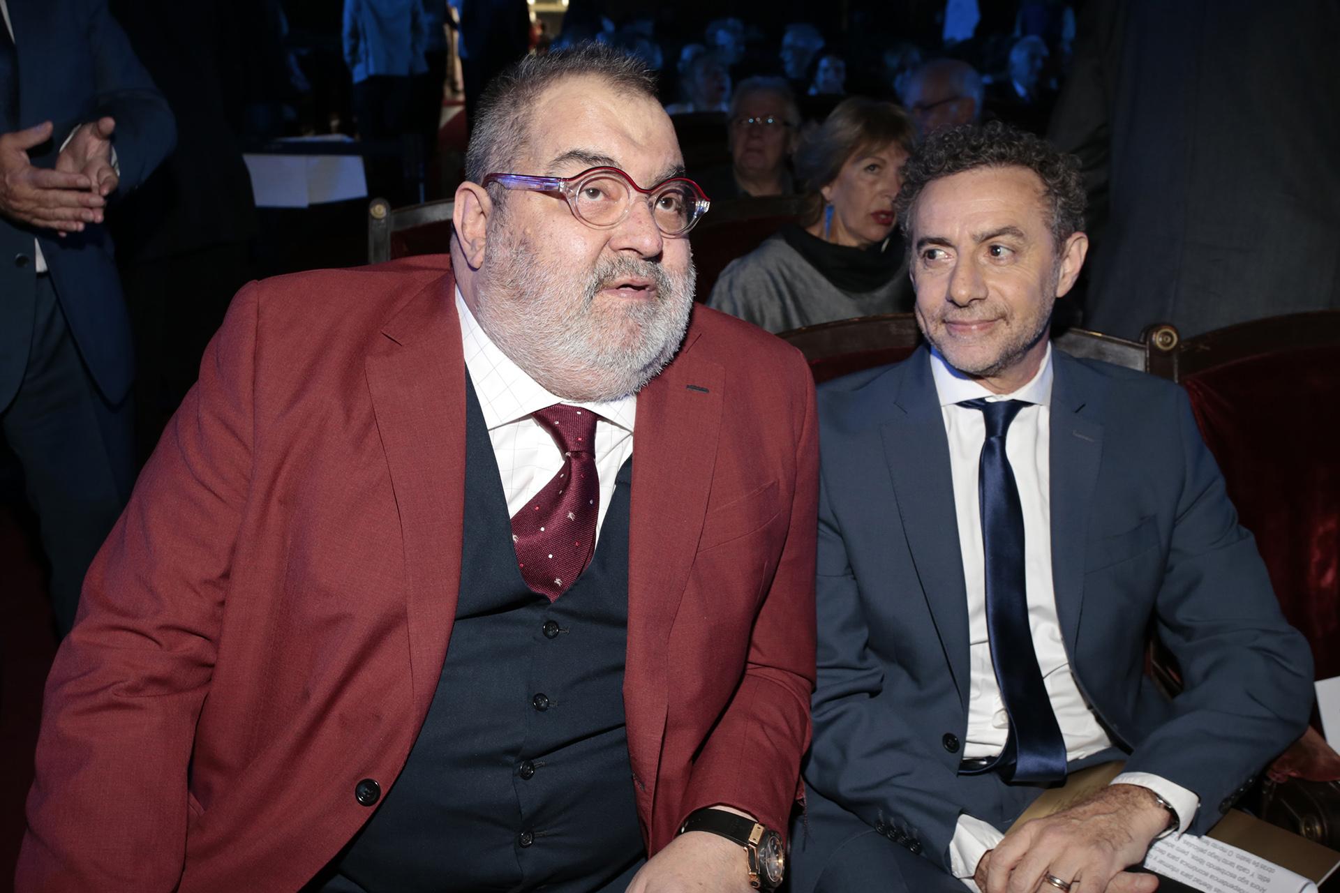 Jorge Lanata y Luis Majul