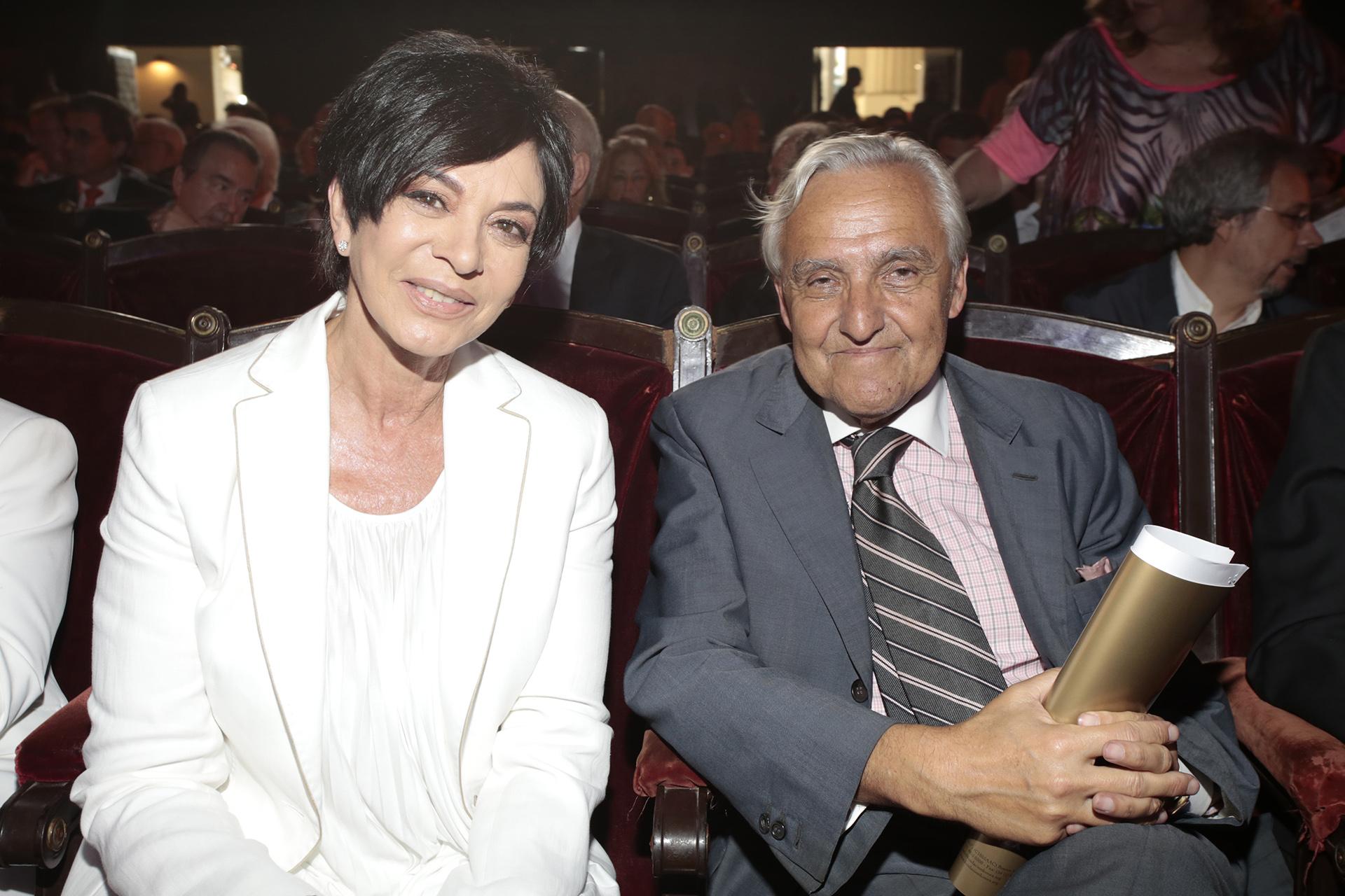 Mónica Gutiérrez y Rosendo Fraga
