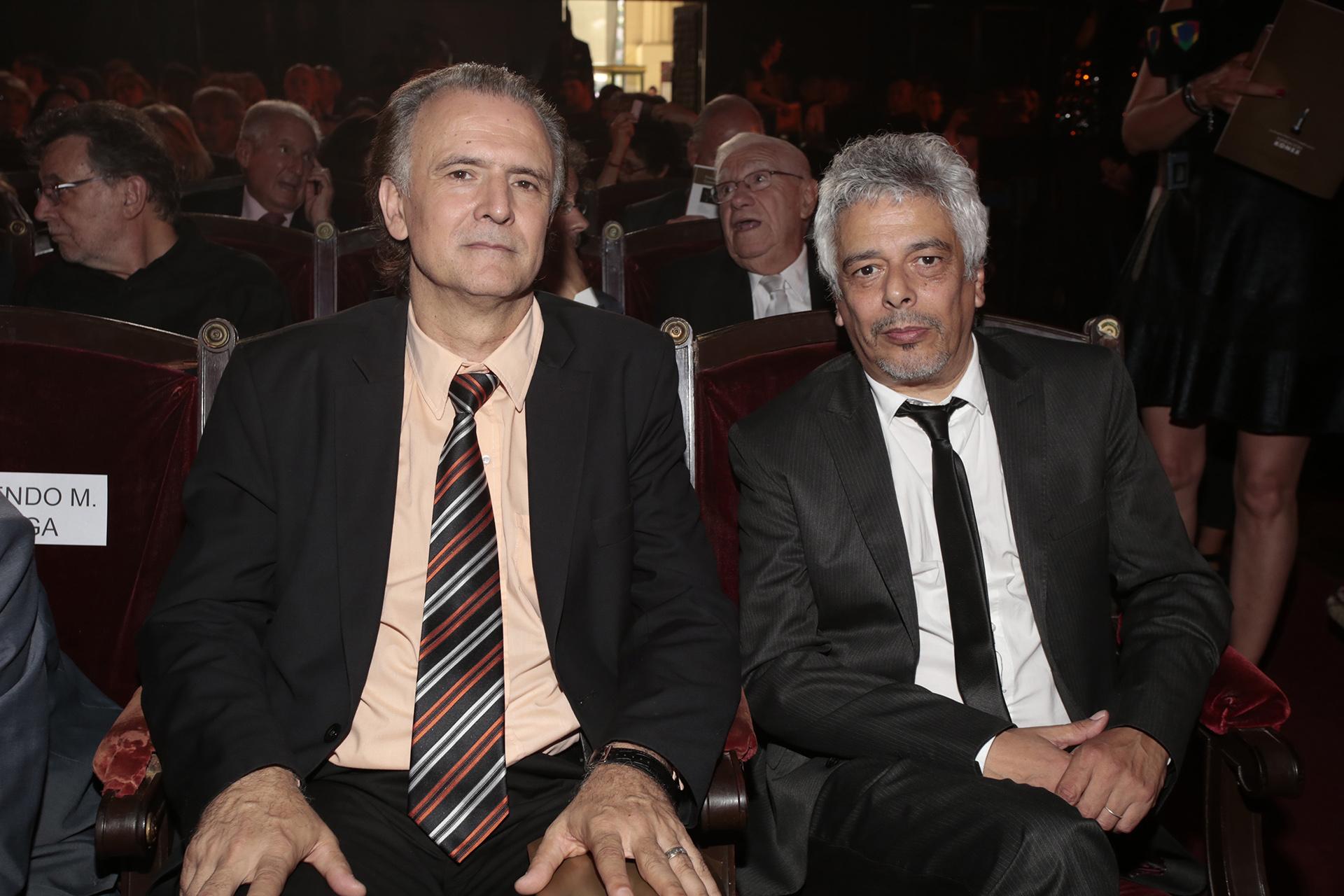 Daniel Santoro y Bobby Flores