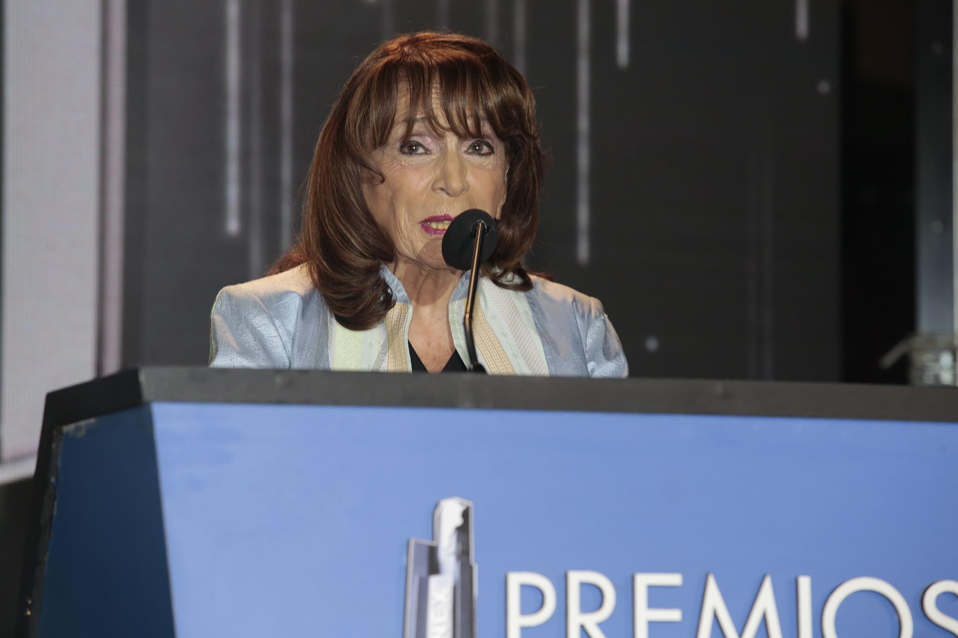 La presidente del Gran Jurado de los Premios Konex 2017, Magdalena Ruiz Guiñazú