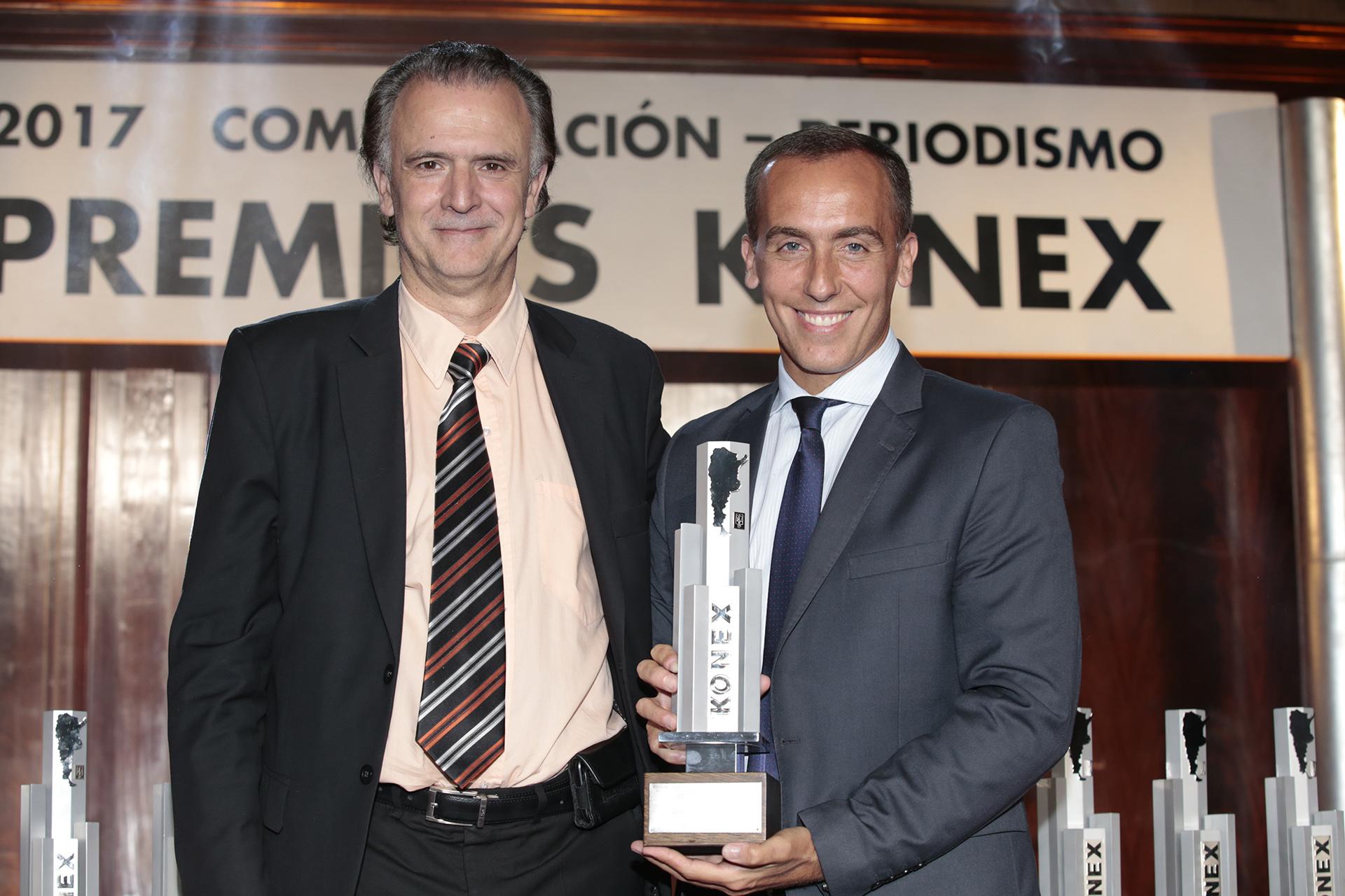 Daniel Santoro y Hugo Alconada Mon