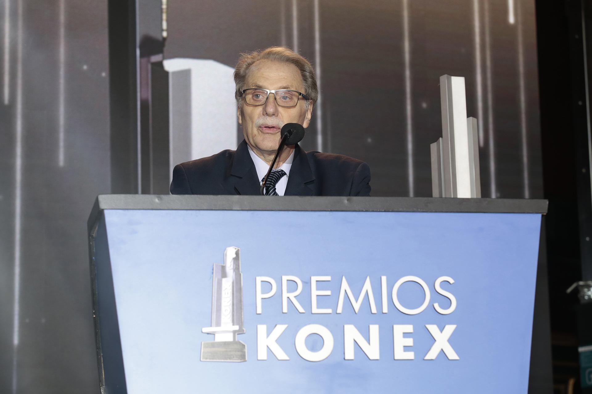 Ismael Bermúdez, premio Konex de Platino en Análisis Económico