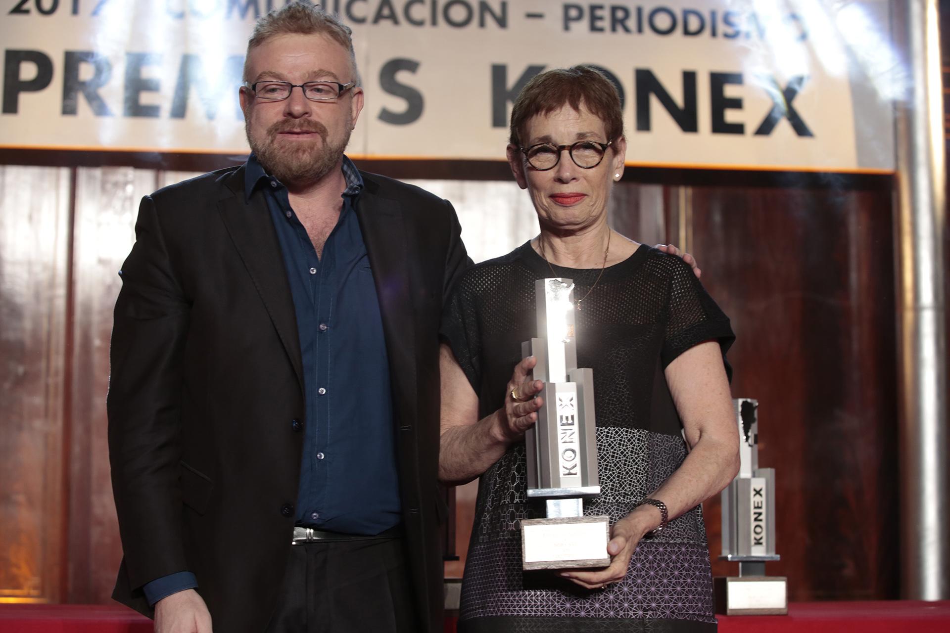 Gabriel Adrián Rabinovich y Nora Bär