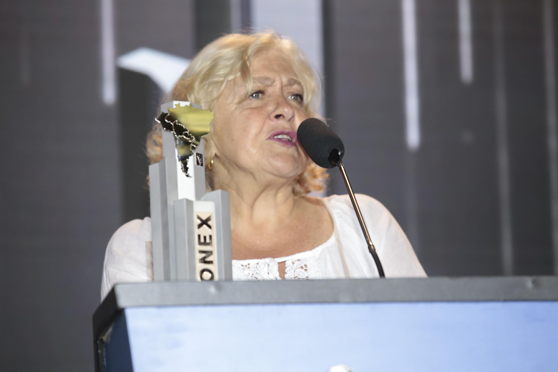 Mónica González Mujica, ganadora del Konex Mercosur (Chile)