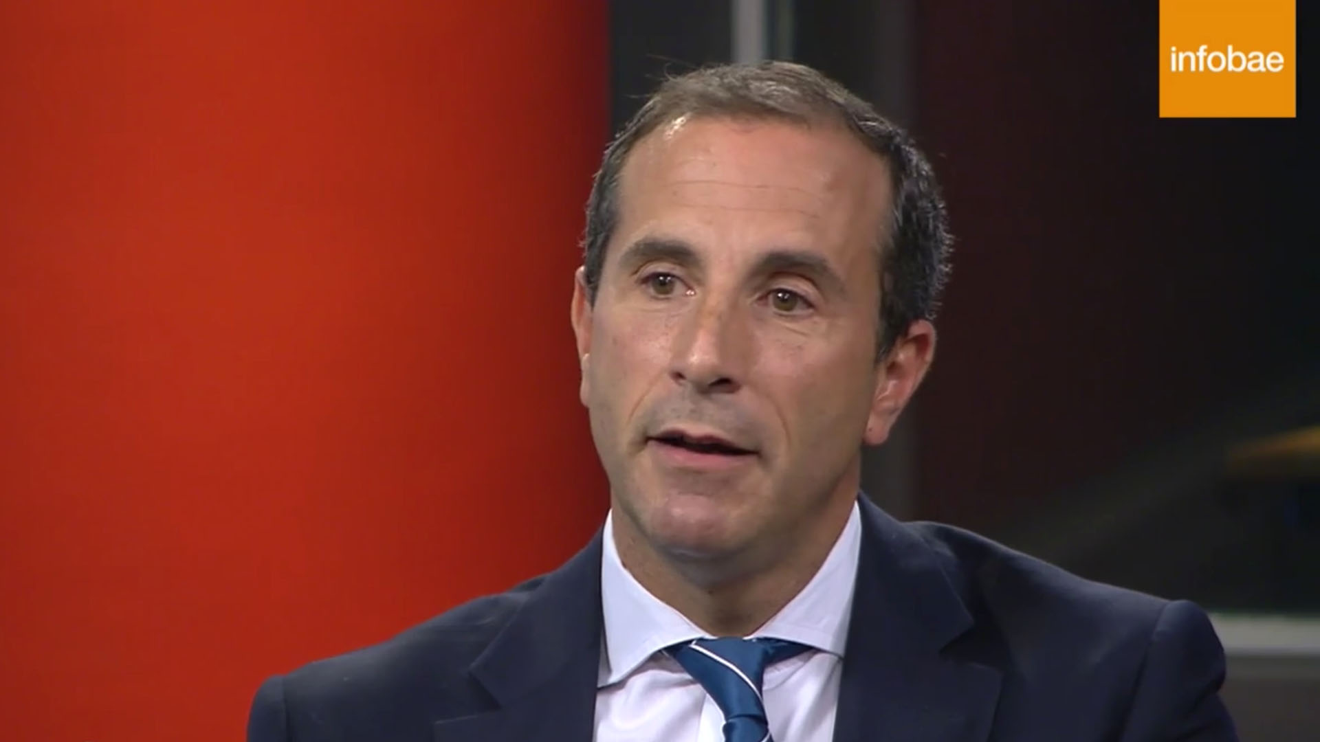 El juez Jorge Gorini, presidente del Tribunal Oral Federal 2