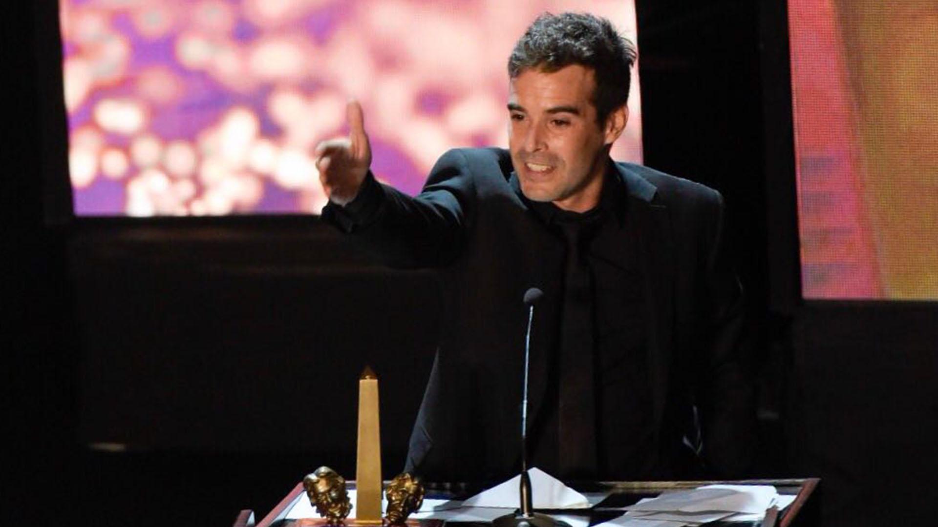 """Nicolás Cabré ganó en la categoría Actuación masculina en musical por """"Sugar"""""""