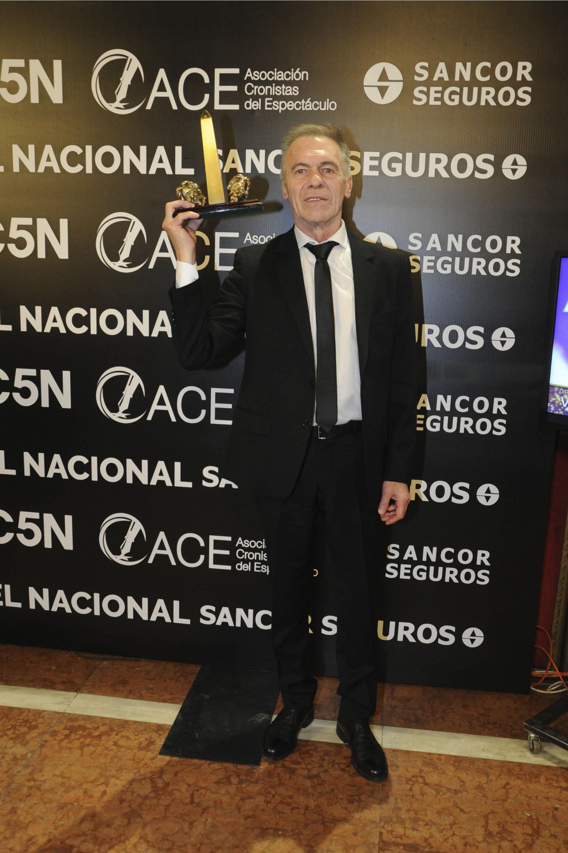 """Miguel Ángel Solá fue distinguido como Actor Protagónico por """"Doble o nada"""""""