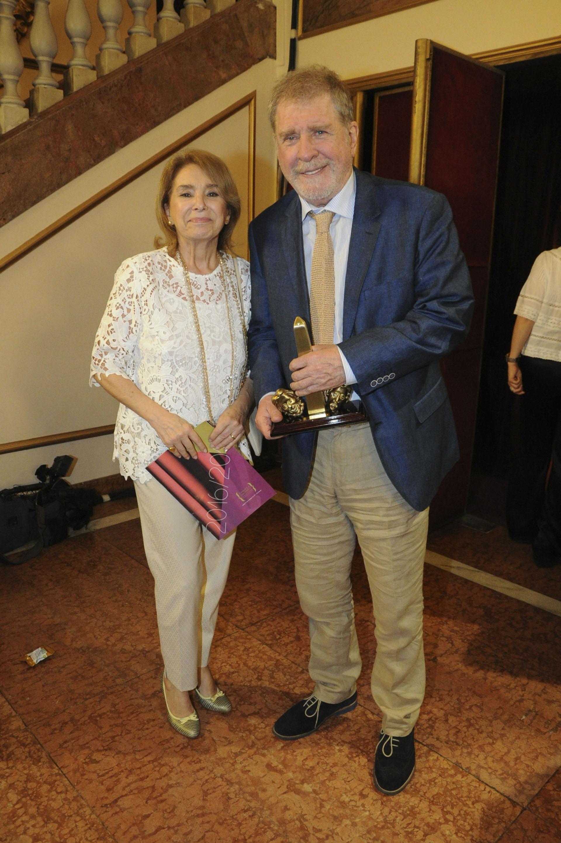 Arturo Puig y su mujer Selva Alemán