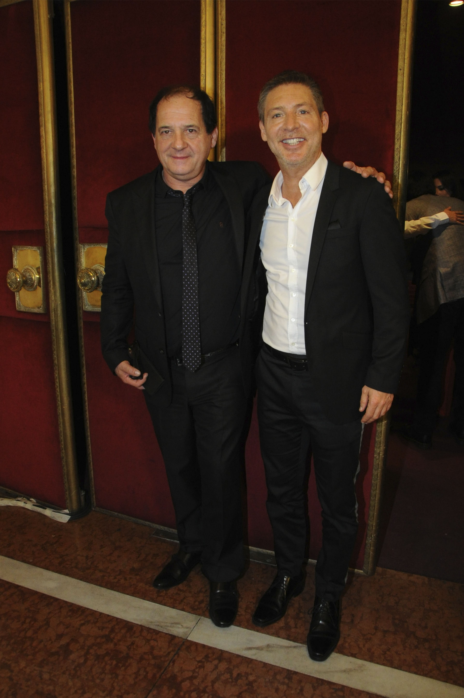 """Julio Chávez y Adrián Suar, protagonistas de """"Un rato con él"""""""