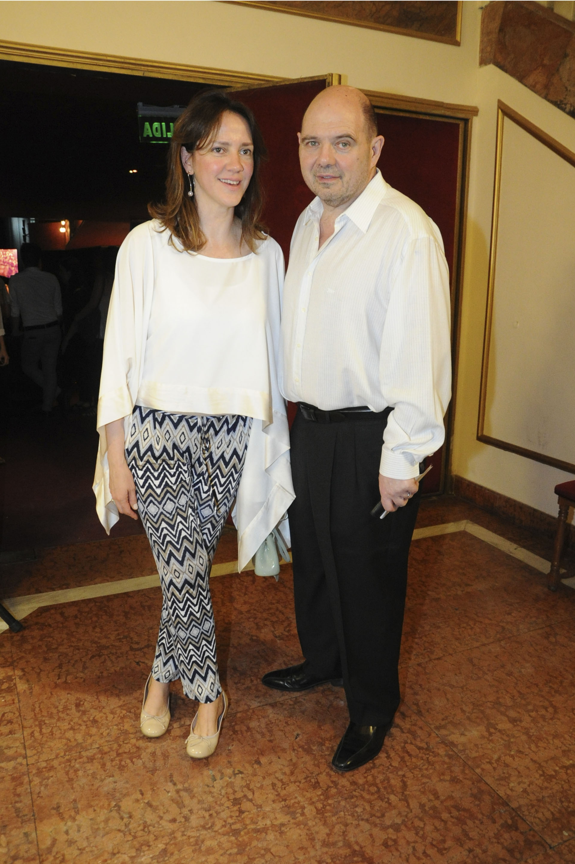 Carlos Rottemberg y su esposa Karina Pérez