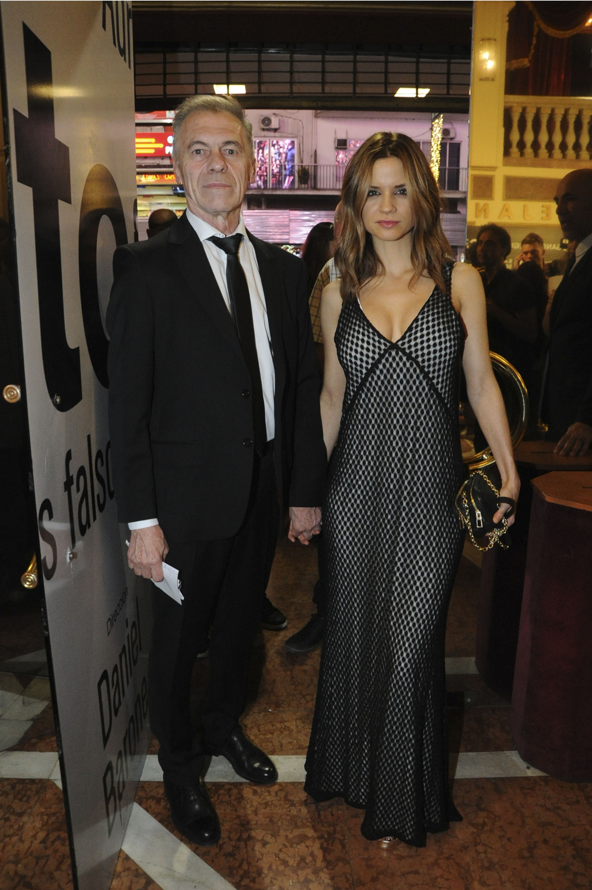 Miguel Ángel Solá y Paula Cancio