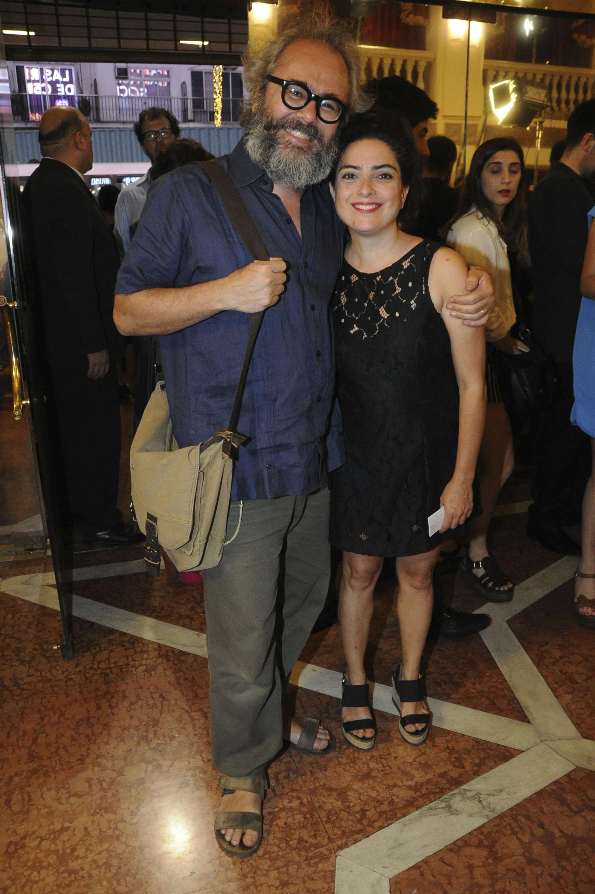 Paola Barrientos y su marido Conrado Geiger