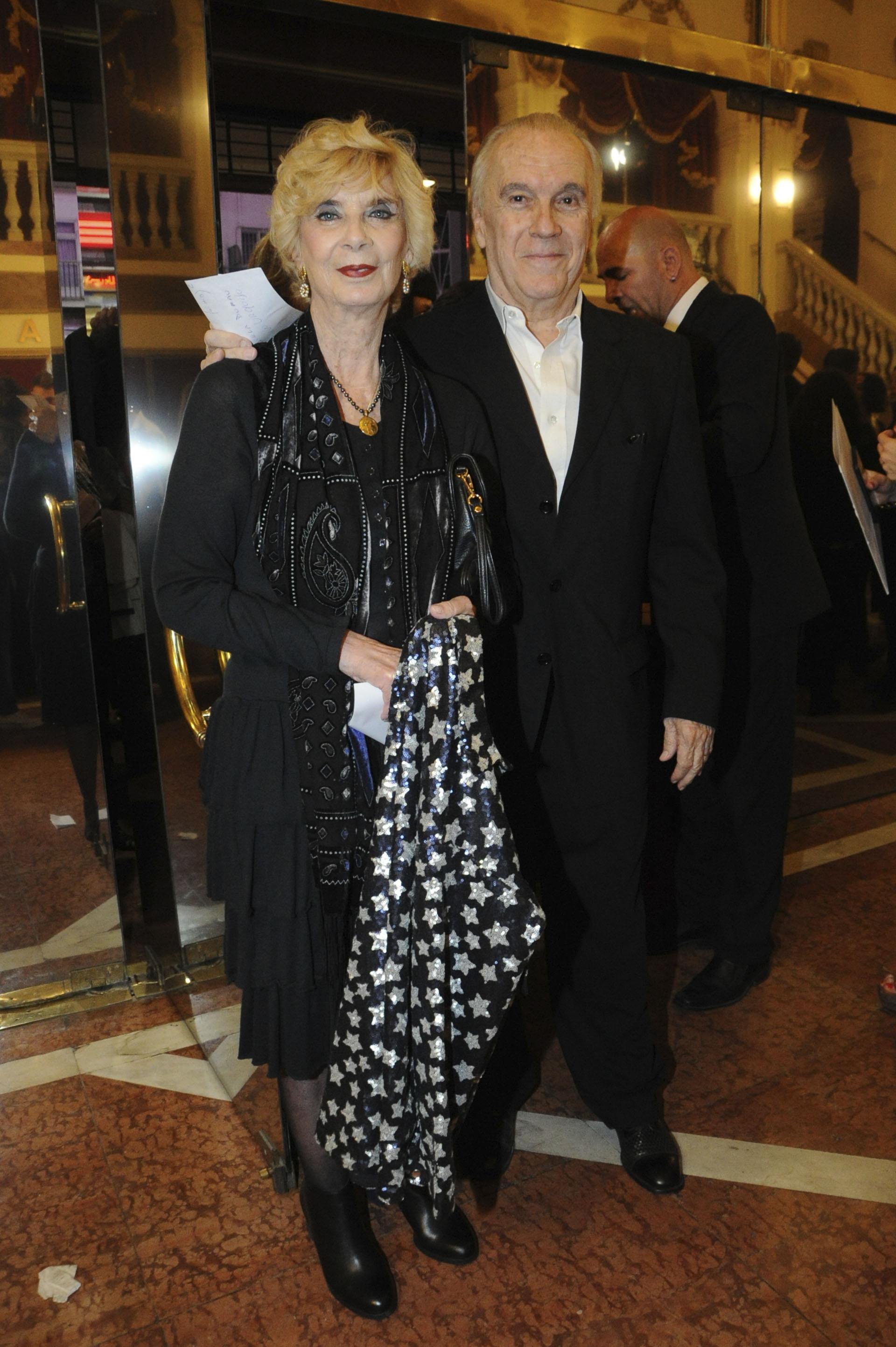 Graciela Dufau y Hugo Urquijo