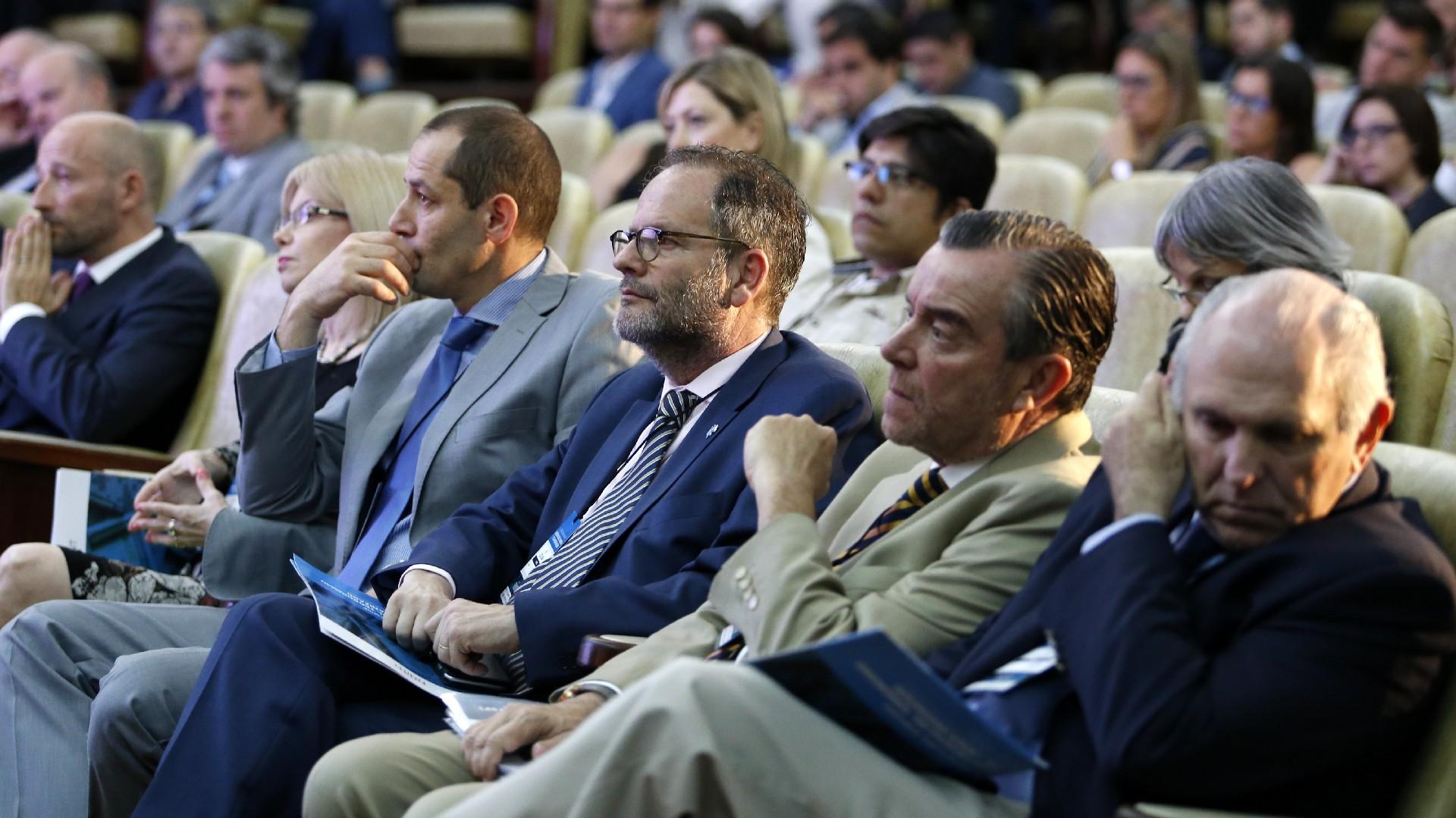 Se organizaron 8 paneles donde se debatió sobre información relevante sobre seguridad, defensa, inteligencia, justicia penal y sistema financiero