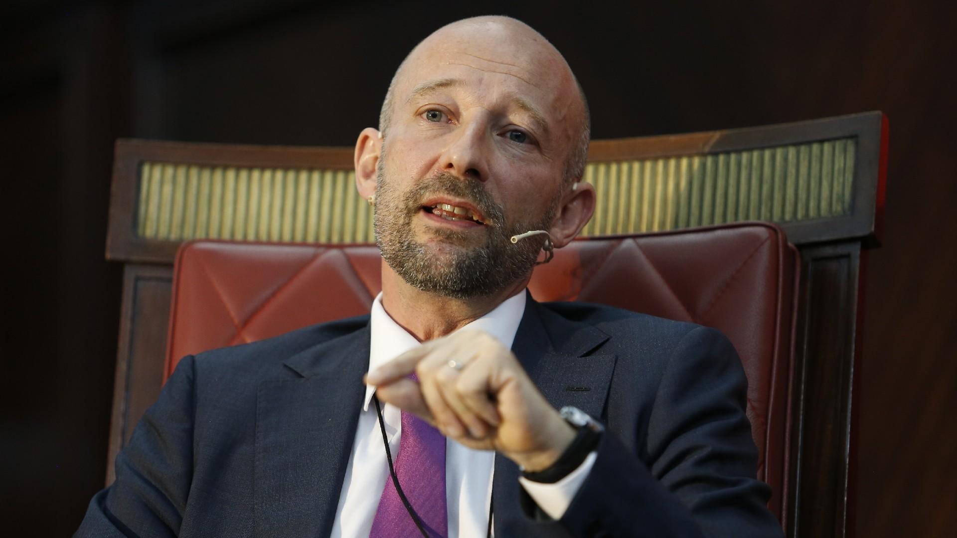 Francois Roudié, responsable de la sección política de la Representación de la Unión Europea en Buenos Aires.