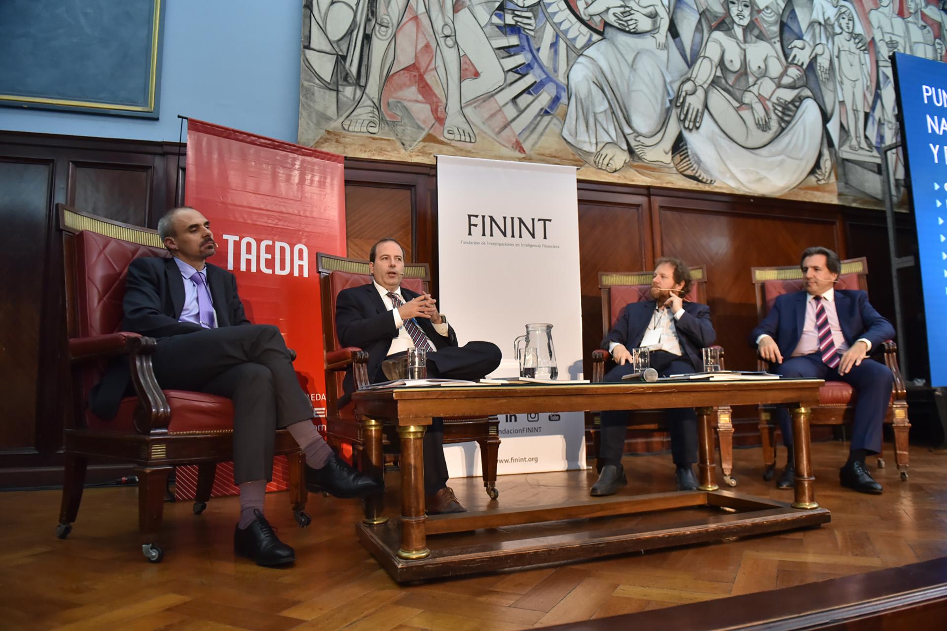 Nicolás Negri, Martín Verrier, Carlos Burgueño y Diego Enríquez