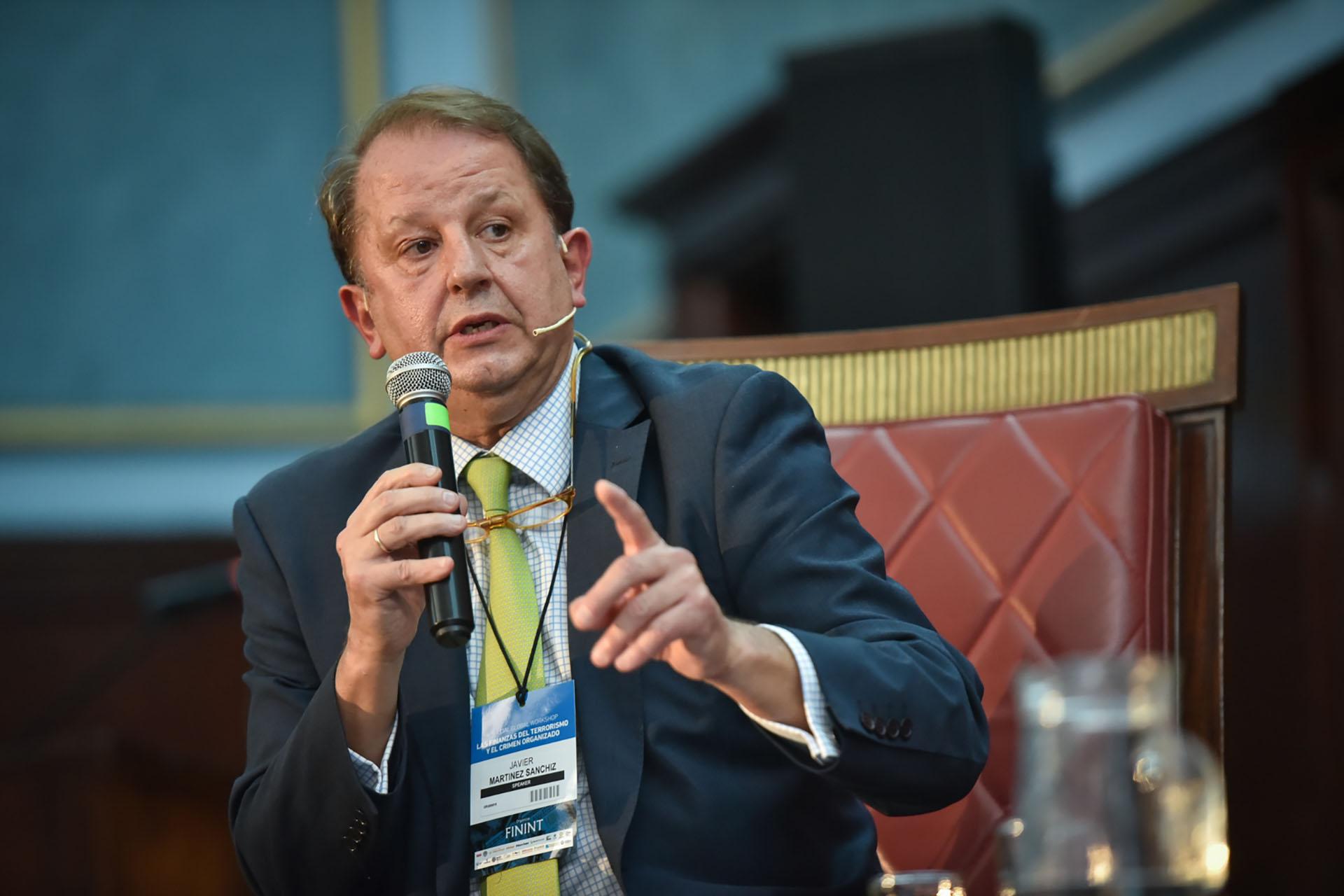 Javier Martínez Sánchis, asesor legal del directorio ejecutivo del Comité contra el Trrorismo del Consejo de Seguridad de las Naciones Unidas.