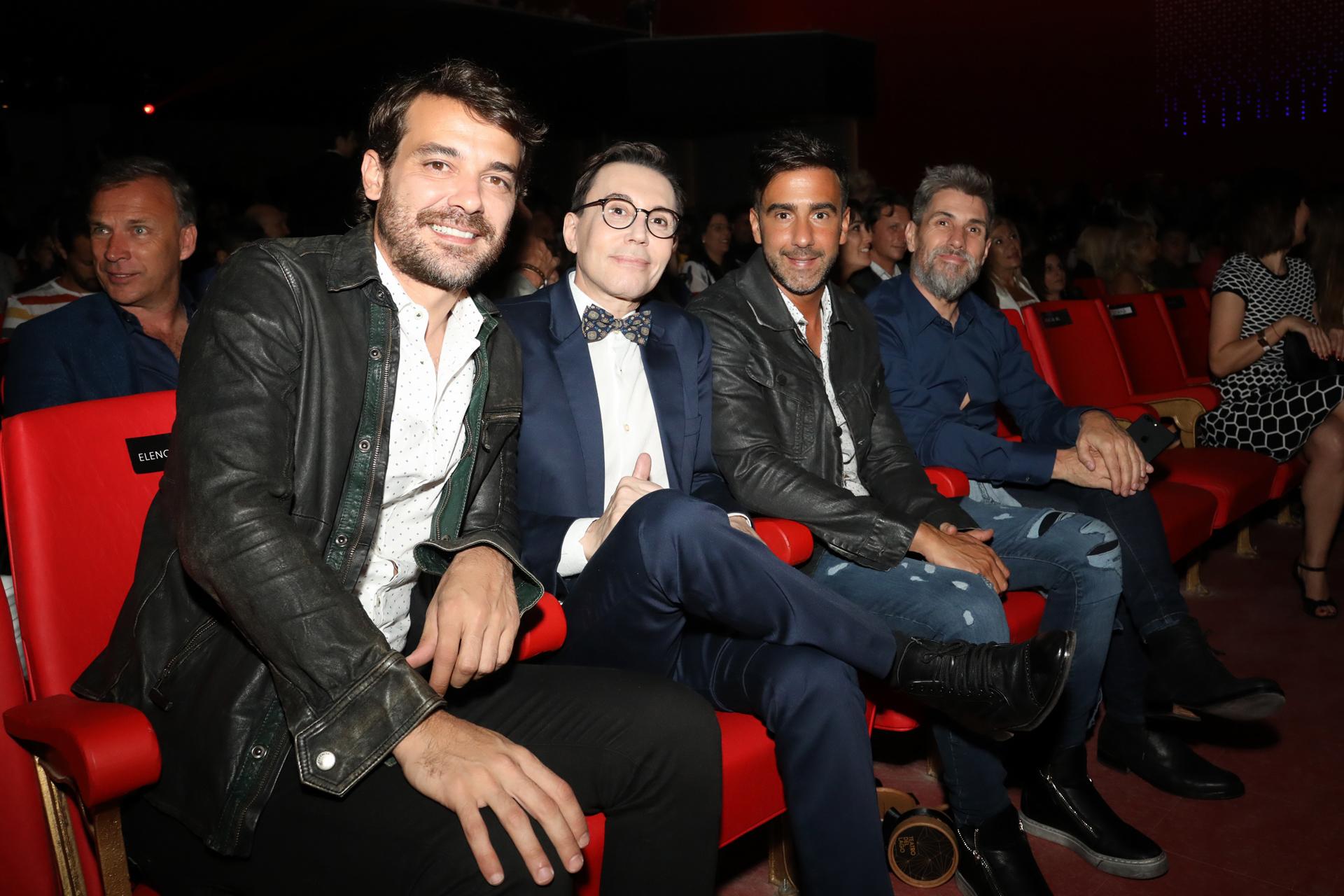 Pedro Alfonso, Marcelo Polino, Fede Hoppe y Pablo Prada