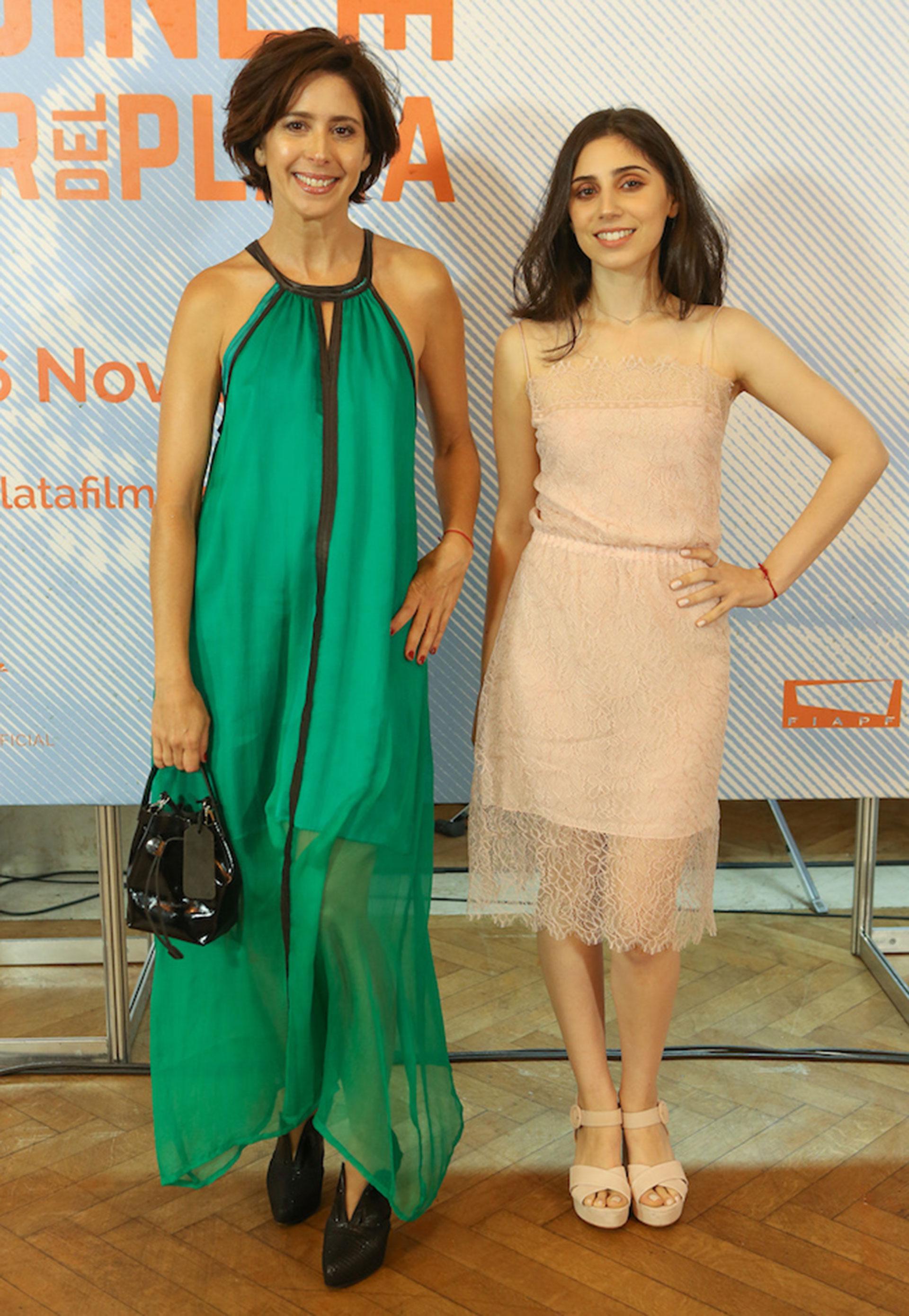 Laura Novoa y Zoe Hochbaum
