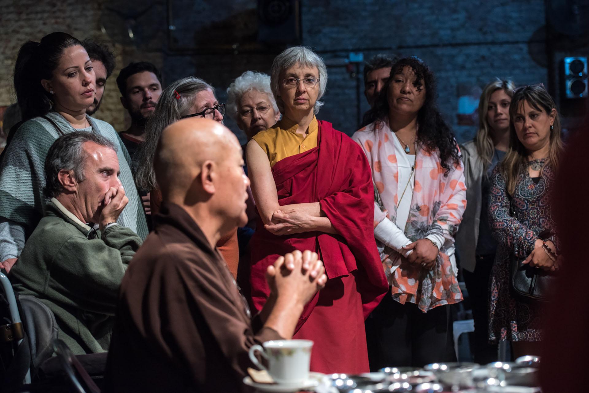 El budismo tibetano tiene unos 20 millones de seguidores y es una de las ramas más grandes e importantes del budismo con mayoría en Bután, Mongolia, Ladakh (India) y Tíbet