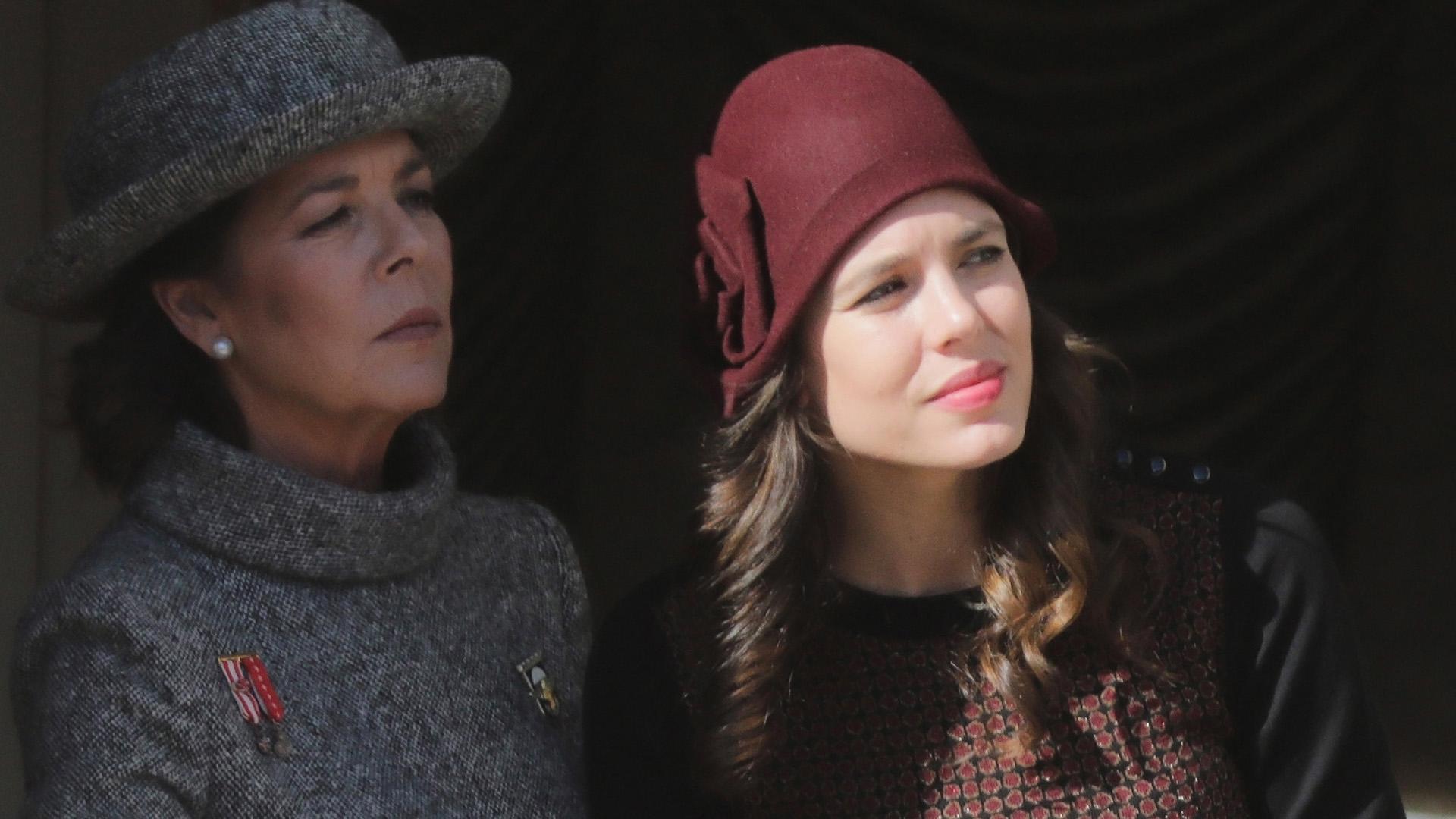 Carolina de Mónaco y su hija Charlotte