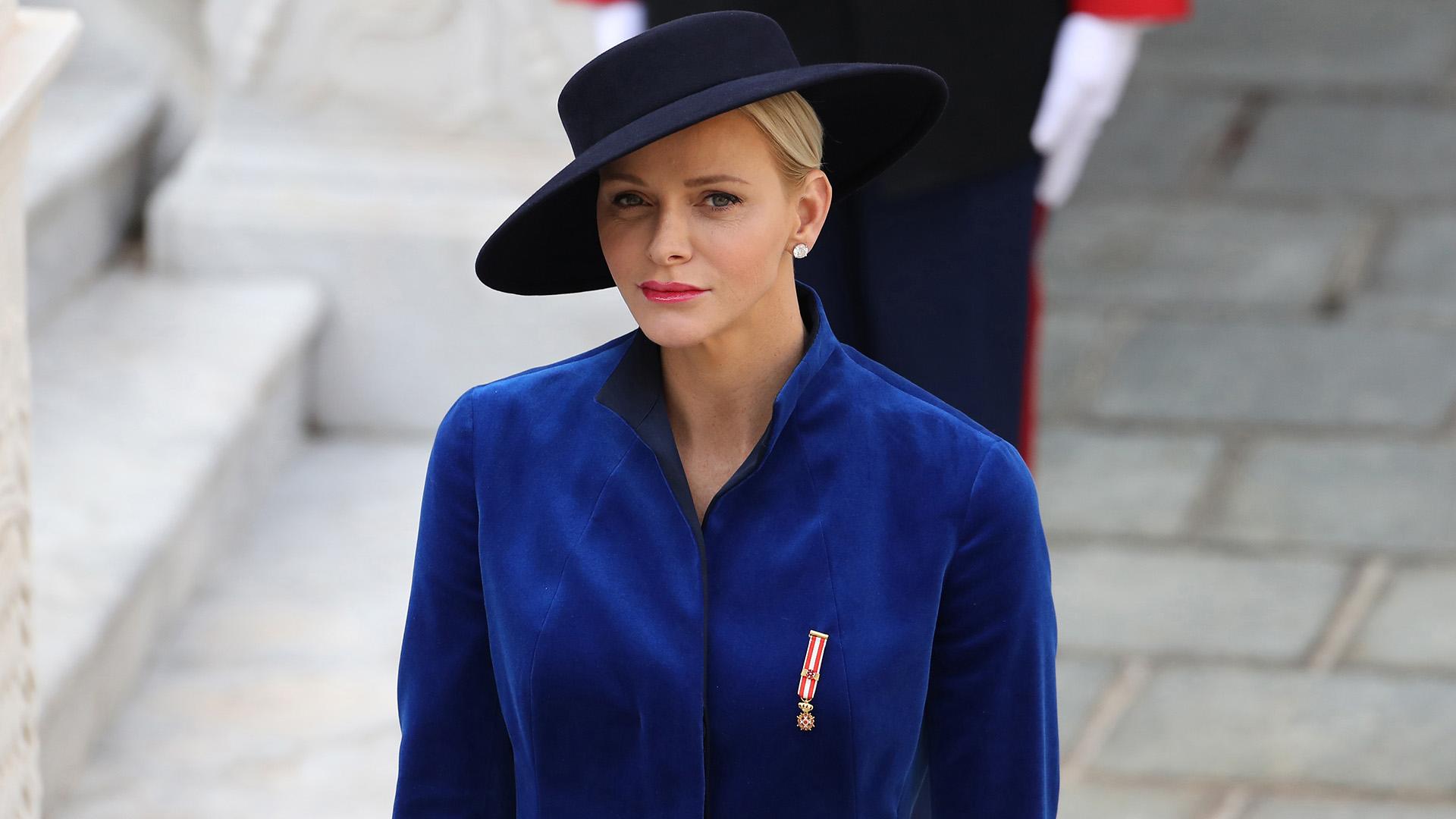 El fabuloso estilismo de Charlene de Mónaco, que volvió a acaparar todas las miradas