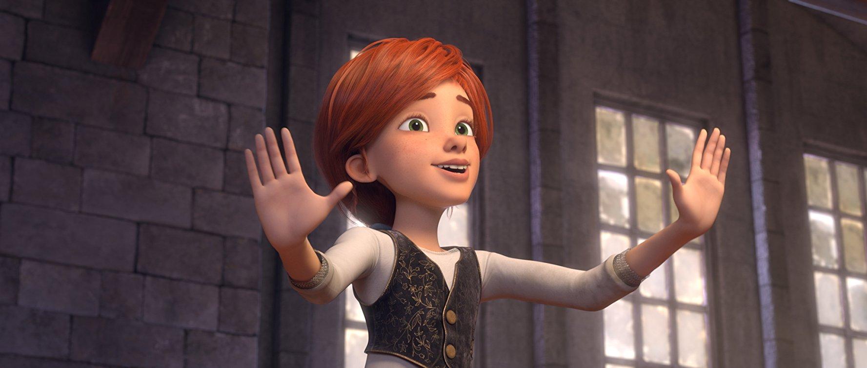 El título de la película en los mercados internacionales es Ballerina pero en Estados Unidos se llama Leap!